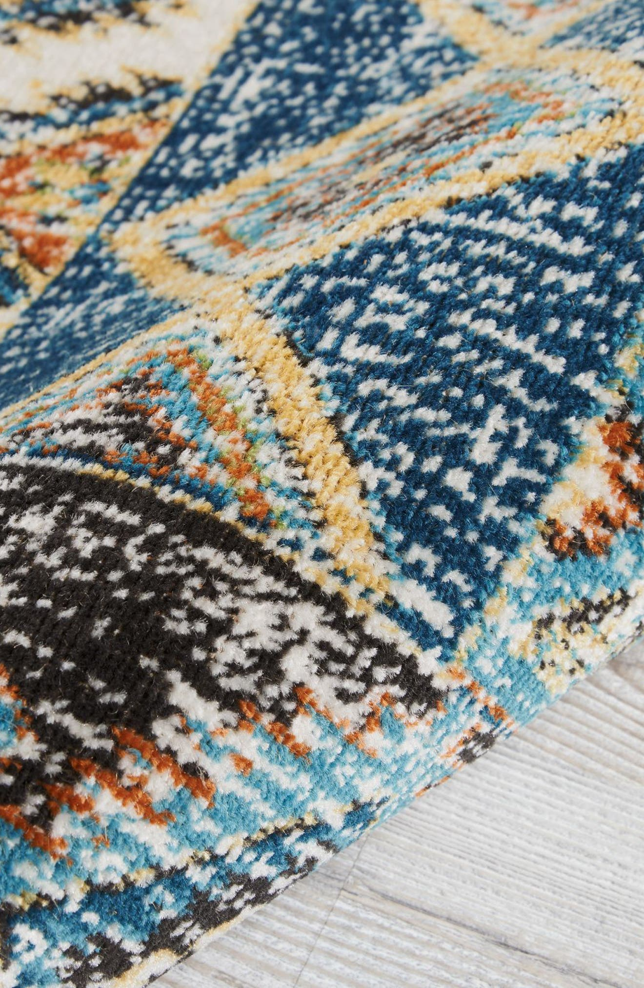 Aria Rug,                             Alternate thumbnail 2, color,                             Indigo