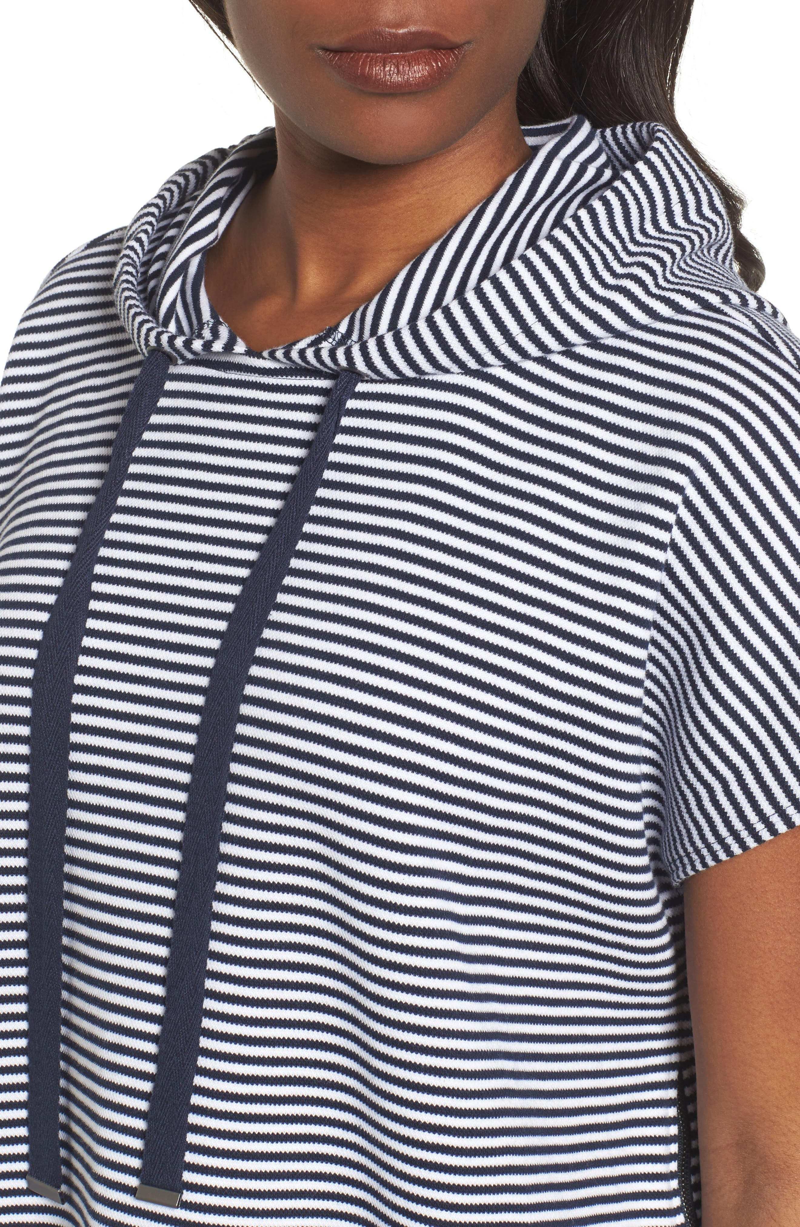 Alternate Image 4  - Kenneth Cole New York Stripe Hoodie