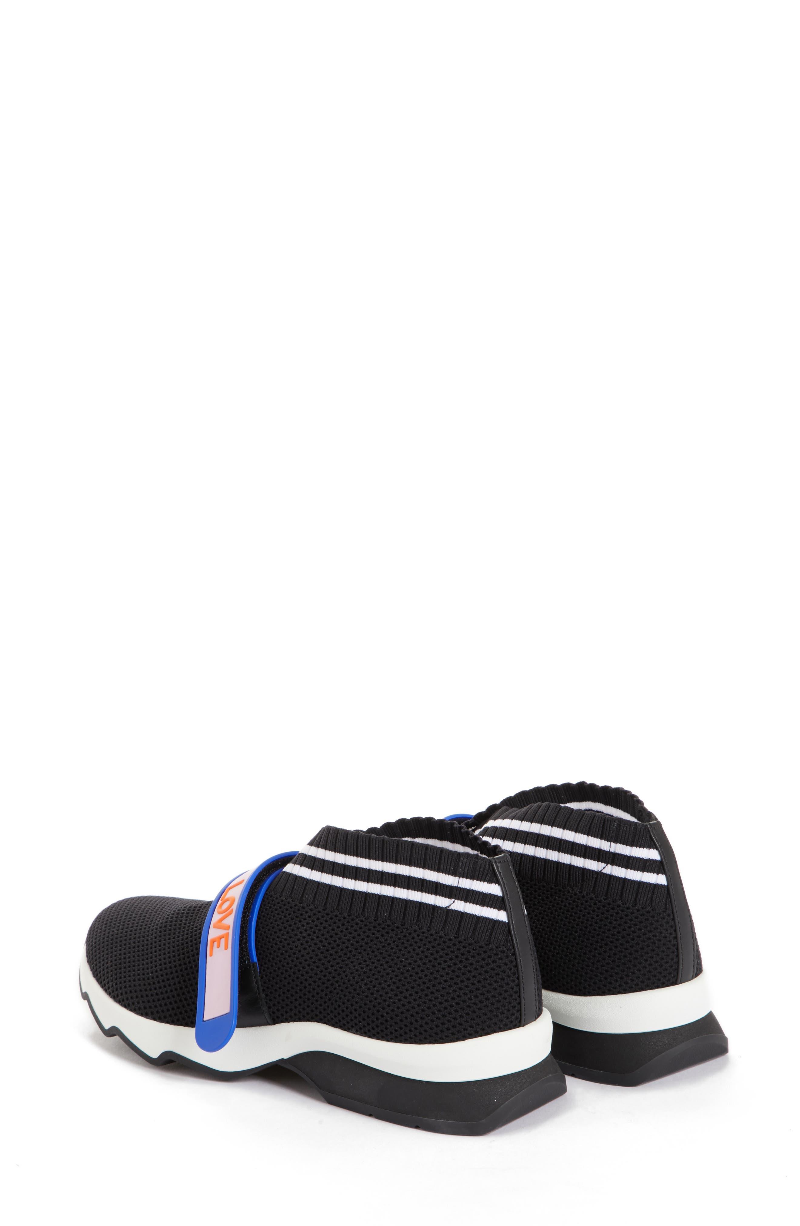 Rockoko Mismatch Sneaker,                             Alternate thumbnail 2, color,                             Black