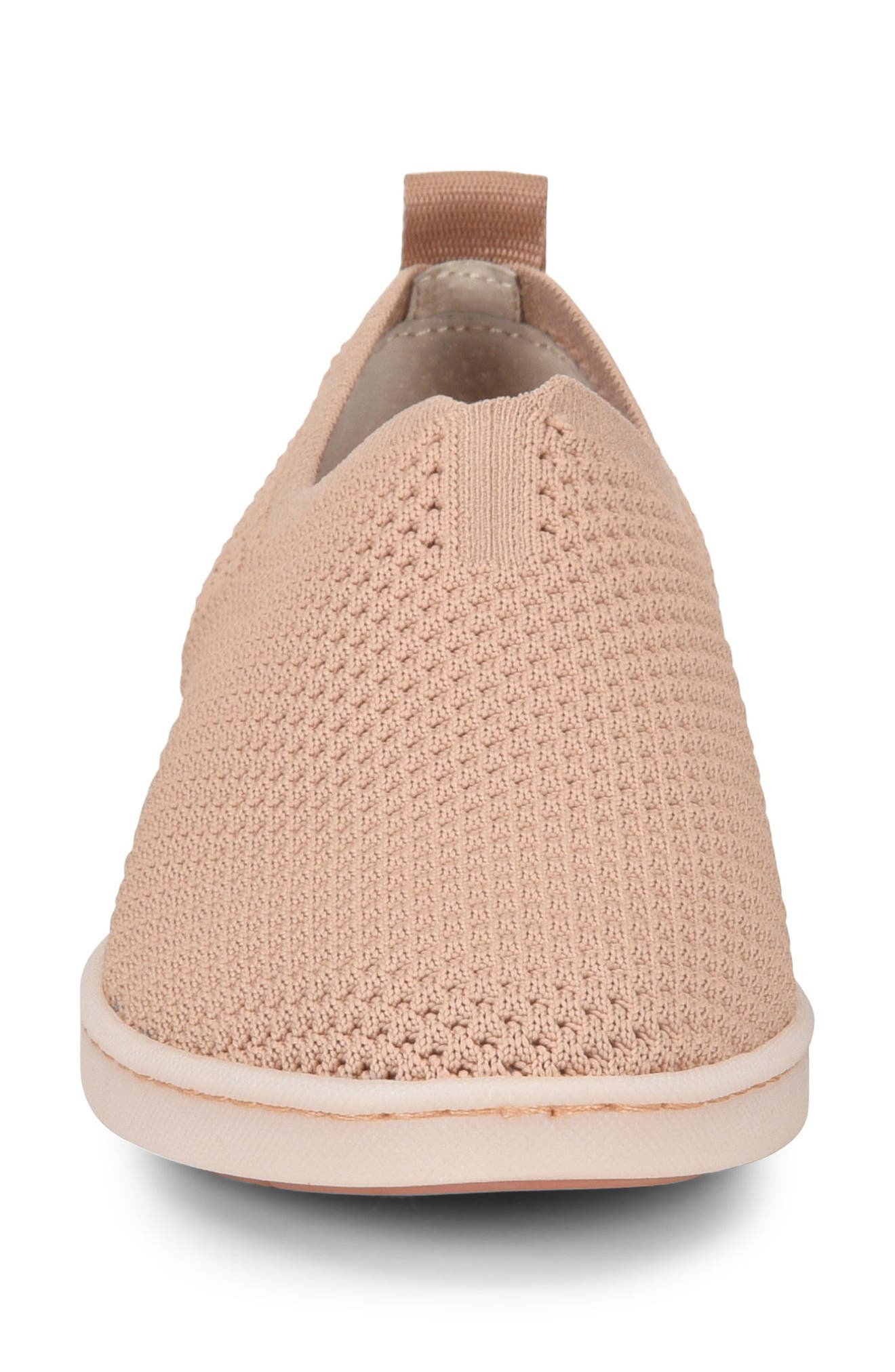 Hazy Slip-On Sneaker,                             Alternate thumbnail 4, color,                             Blush Fabirc