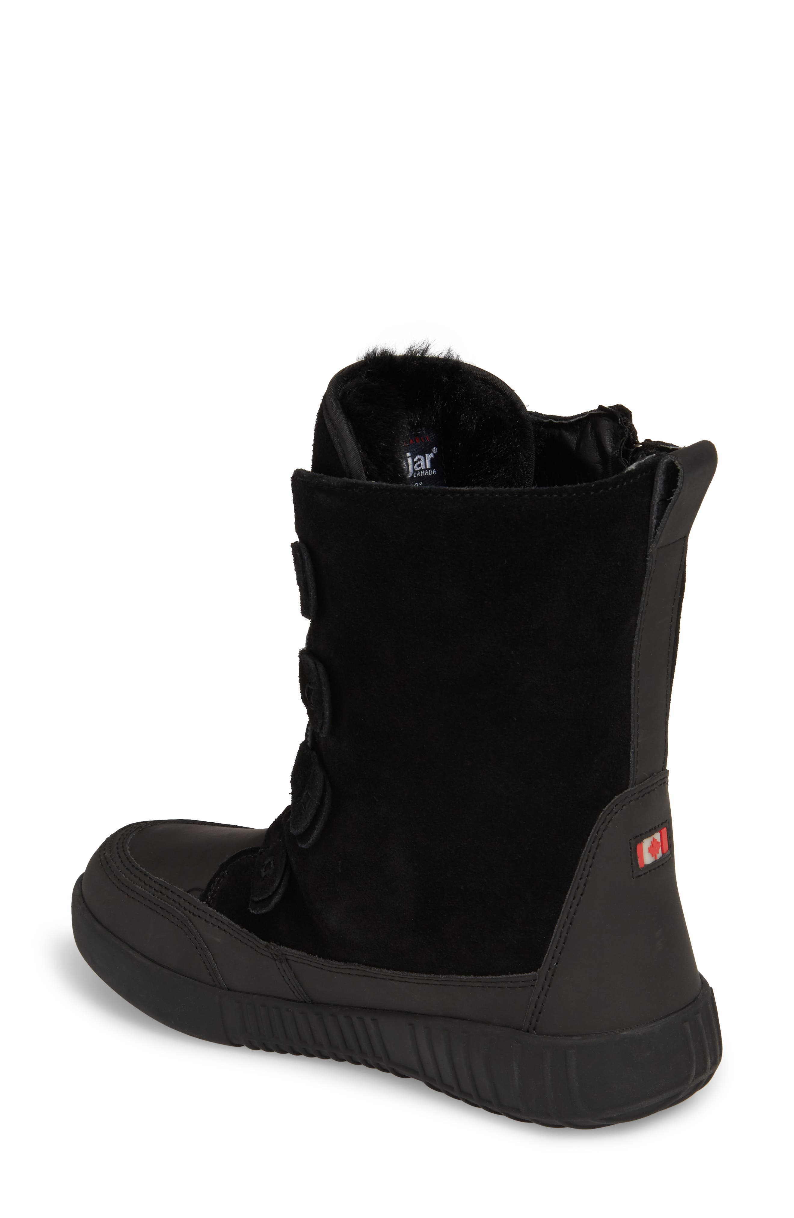 Pamina Insulated Waterproof Boot,                             Alternate thumbnail 2, color,                             Black