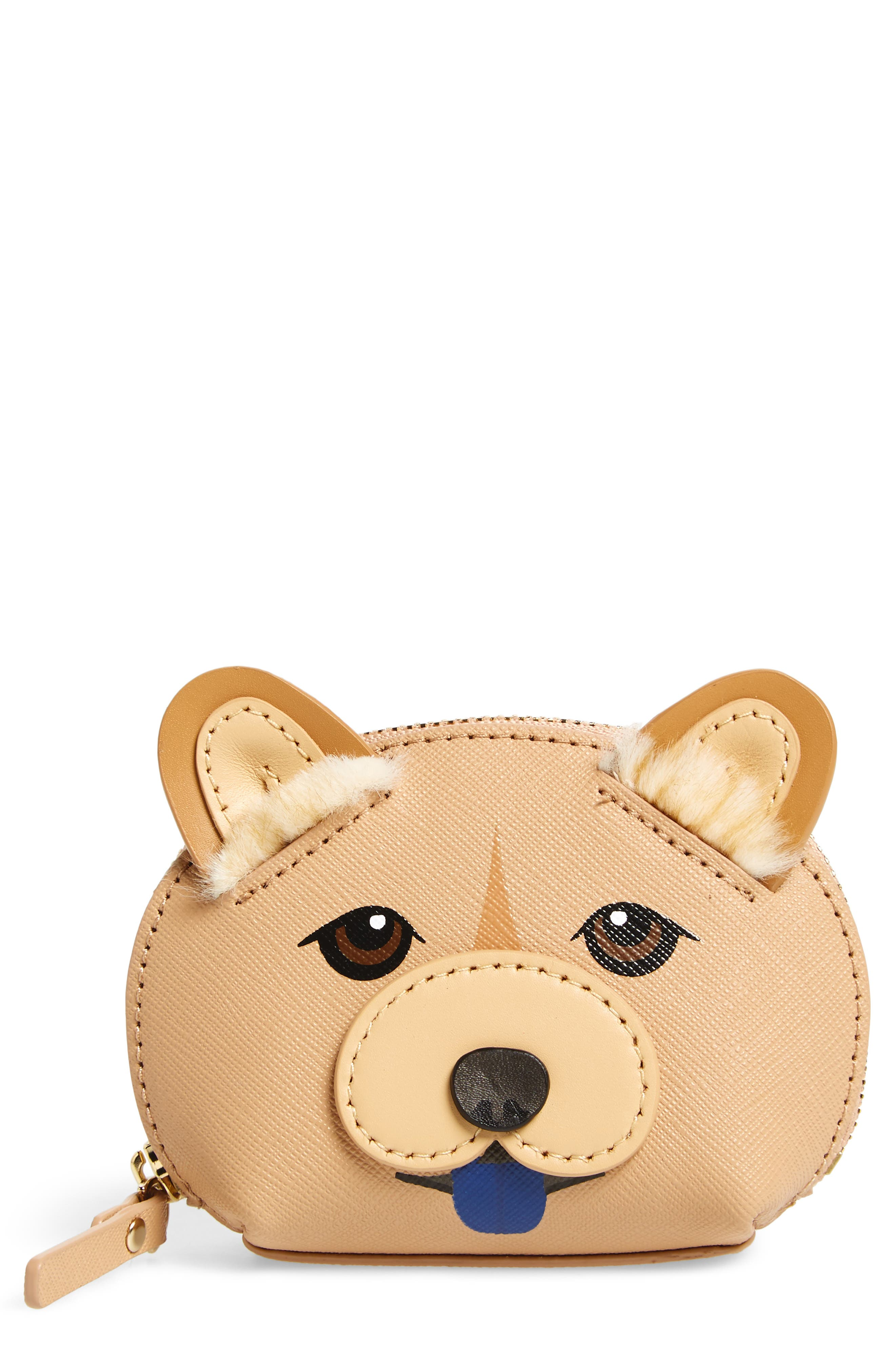 kate spade new york year of the dog dumpling coin pouch