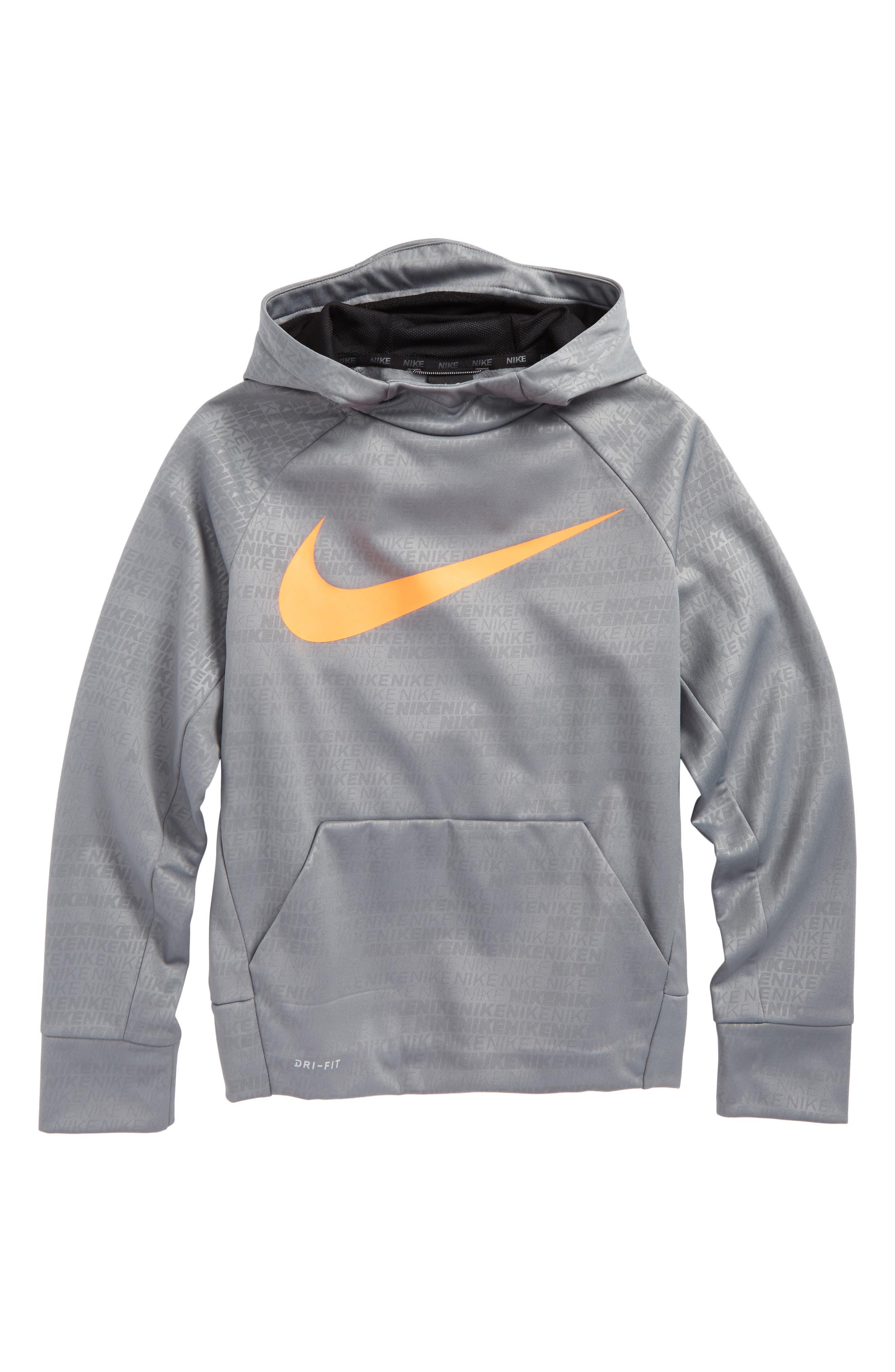 Therma Elite Dry Hoodie,                         Main,                         color, Grey