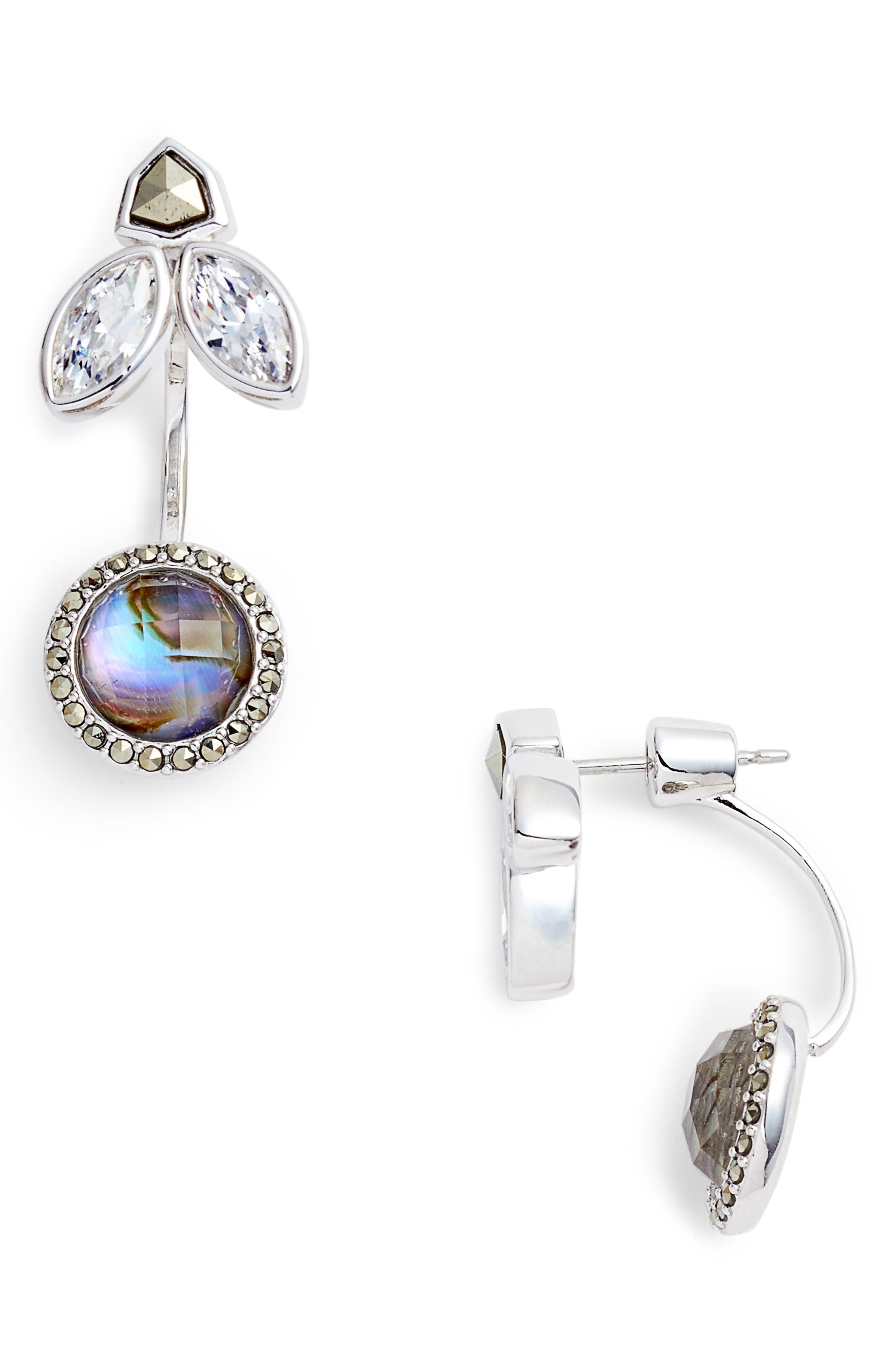 Main Image - Judith Jack Crystal Ear Jackets