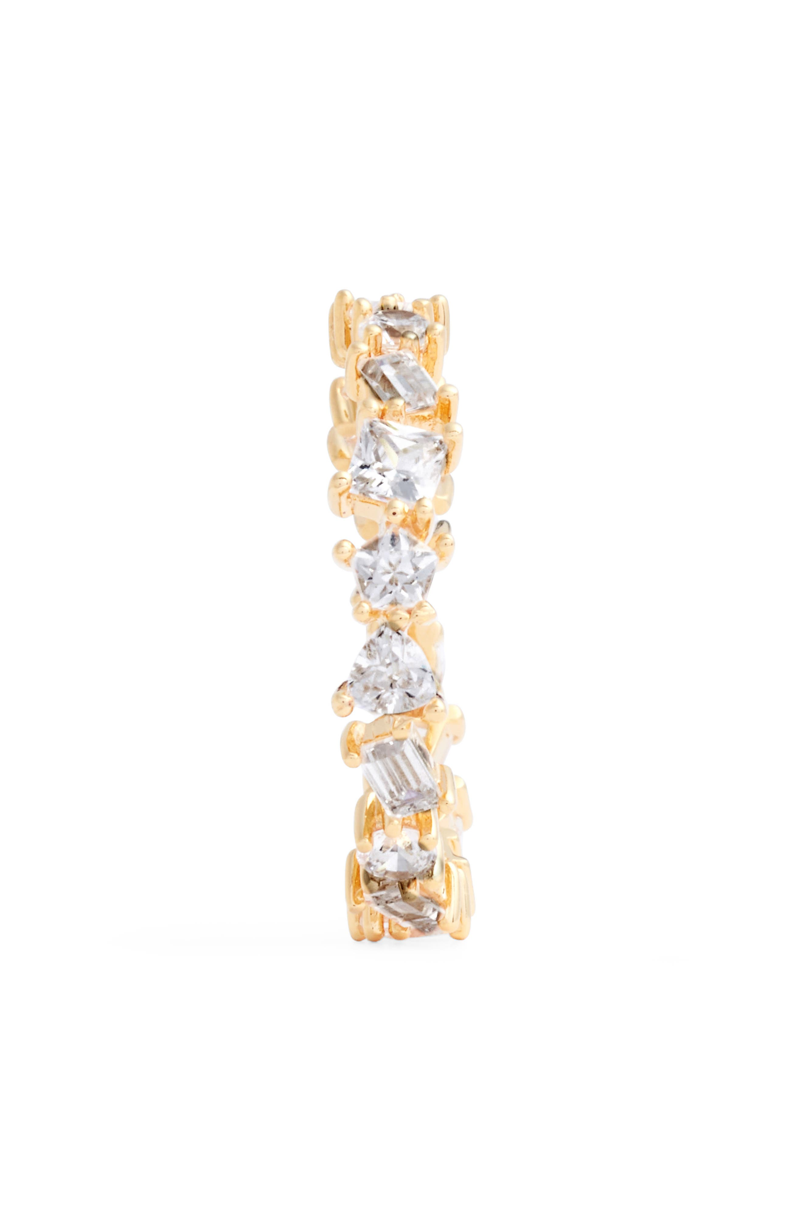 Alternate Image 2  - Nordstrom Cubic Zirconia Eternity Ring
