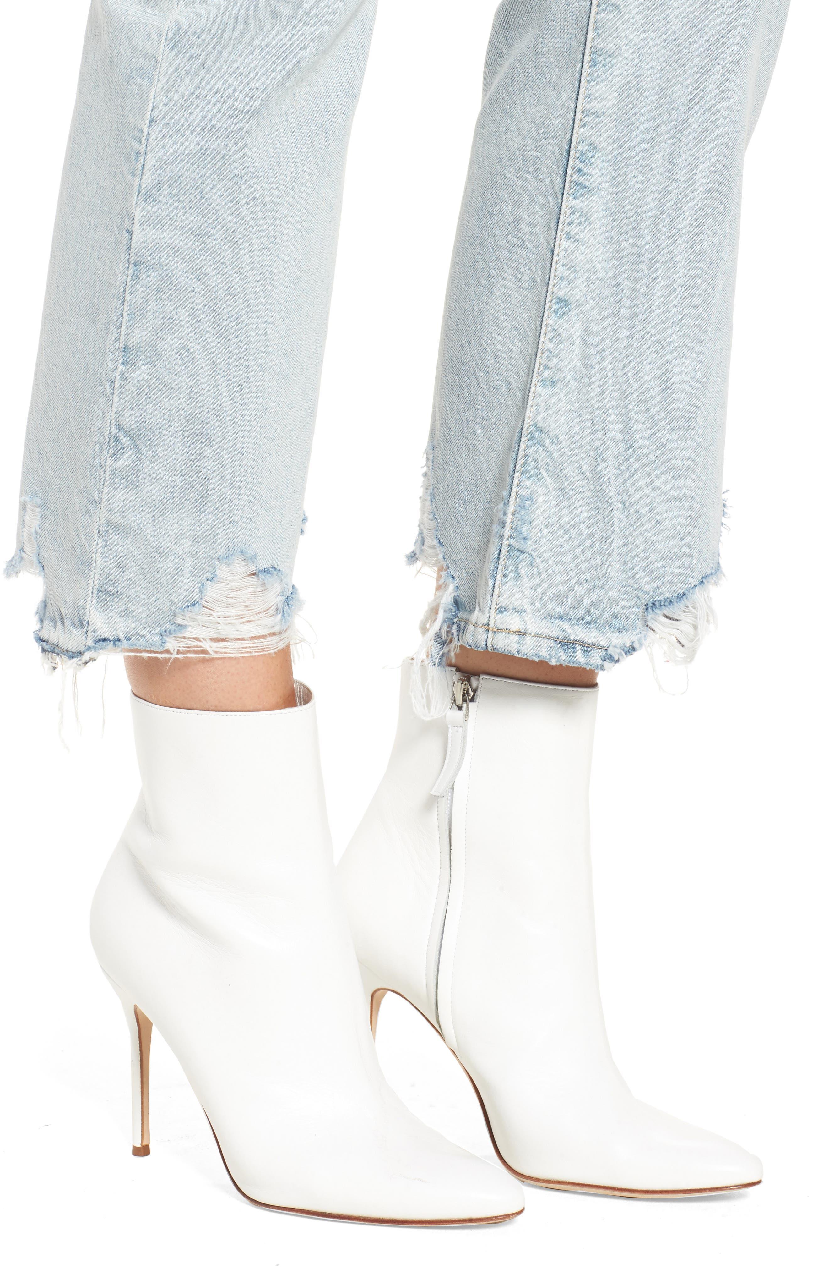 Alternate Image 4  - AG Jeans Jodi Crop Jeans (Bering Wave)