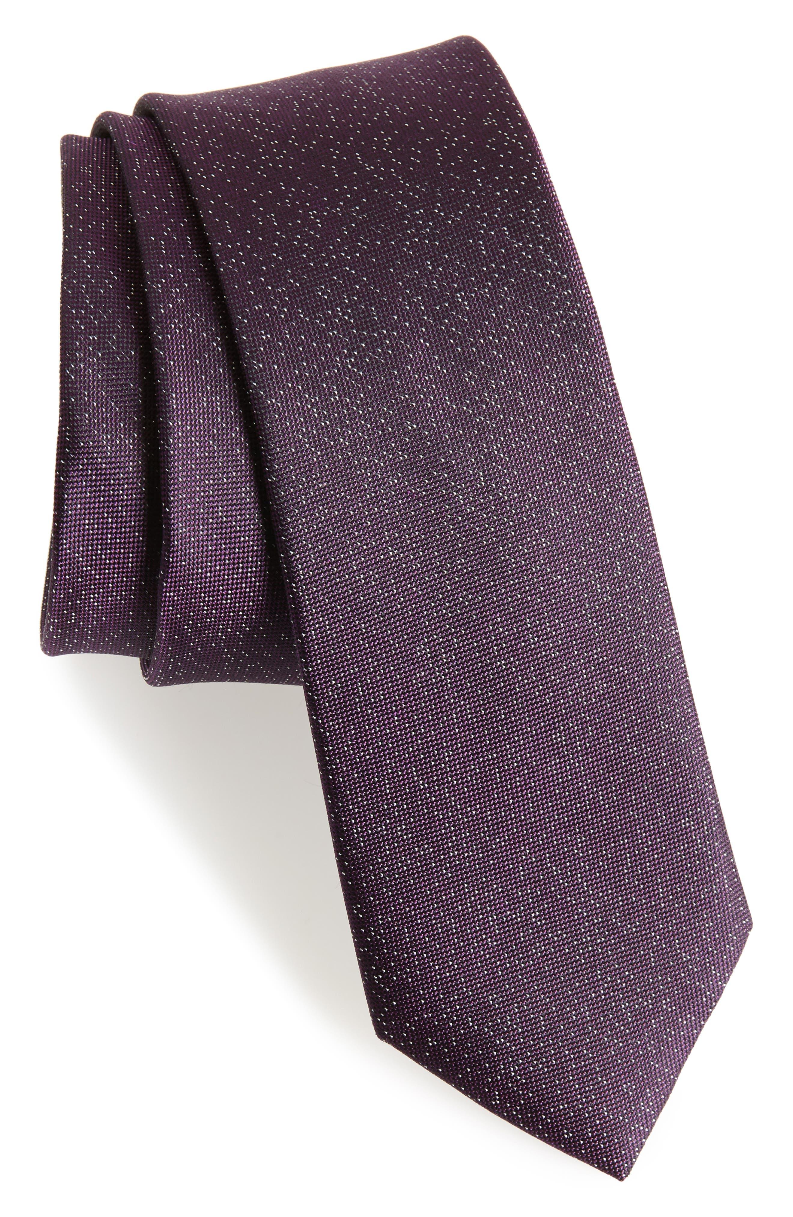 Main Image - Calibrate Confetti Silk Skinny Tie