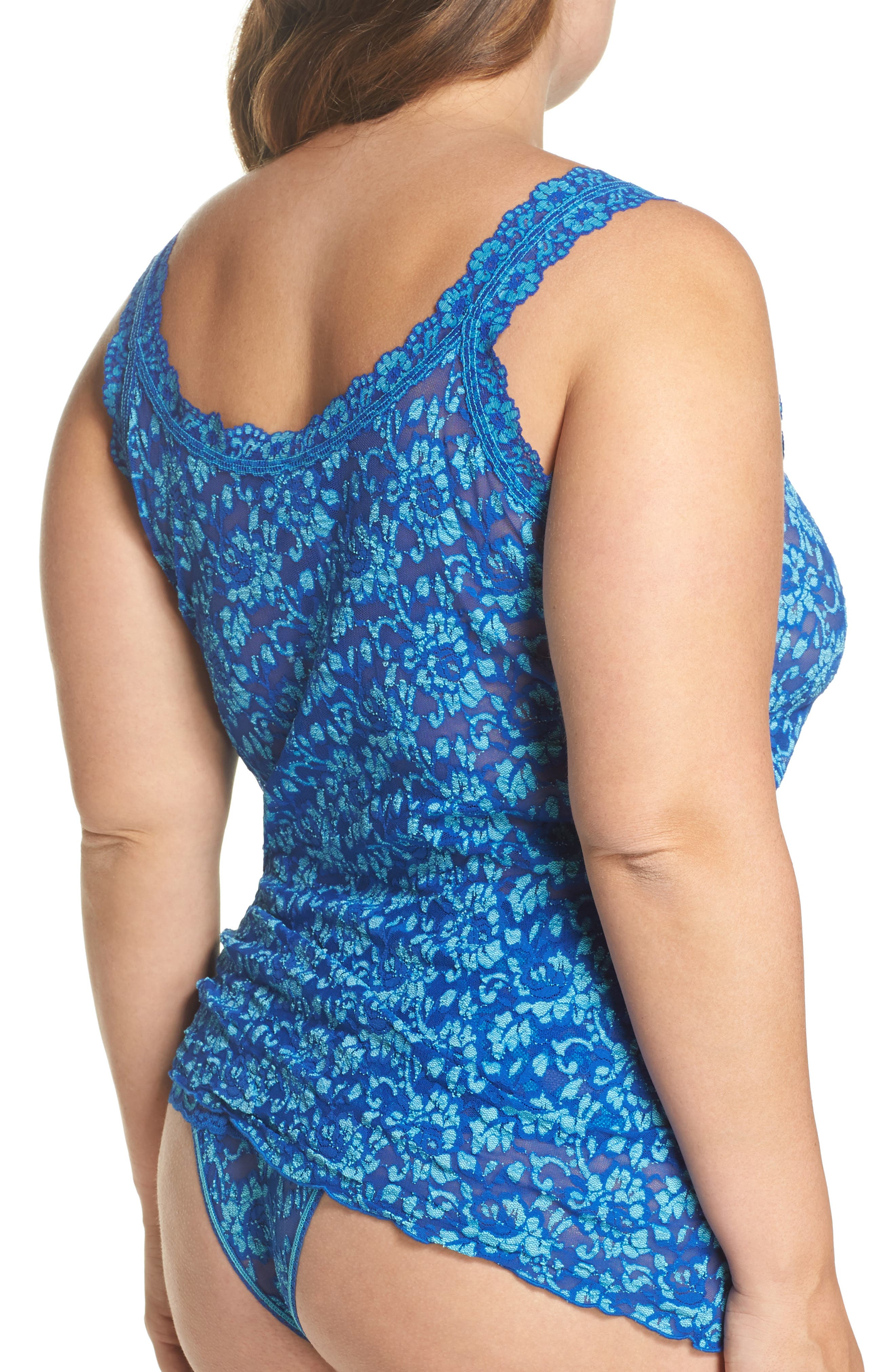 Alternate Image 2  - Hanky Panky Lace Camisole (Plus Size)