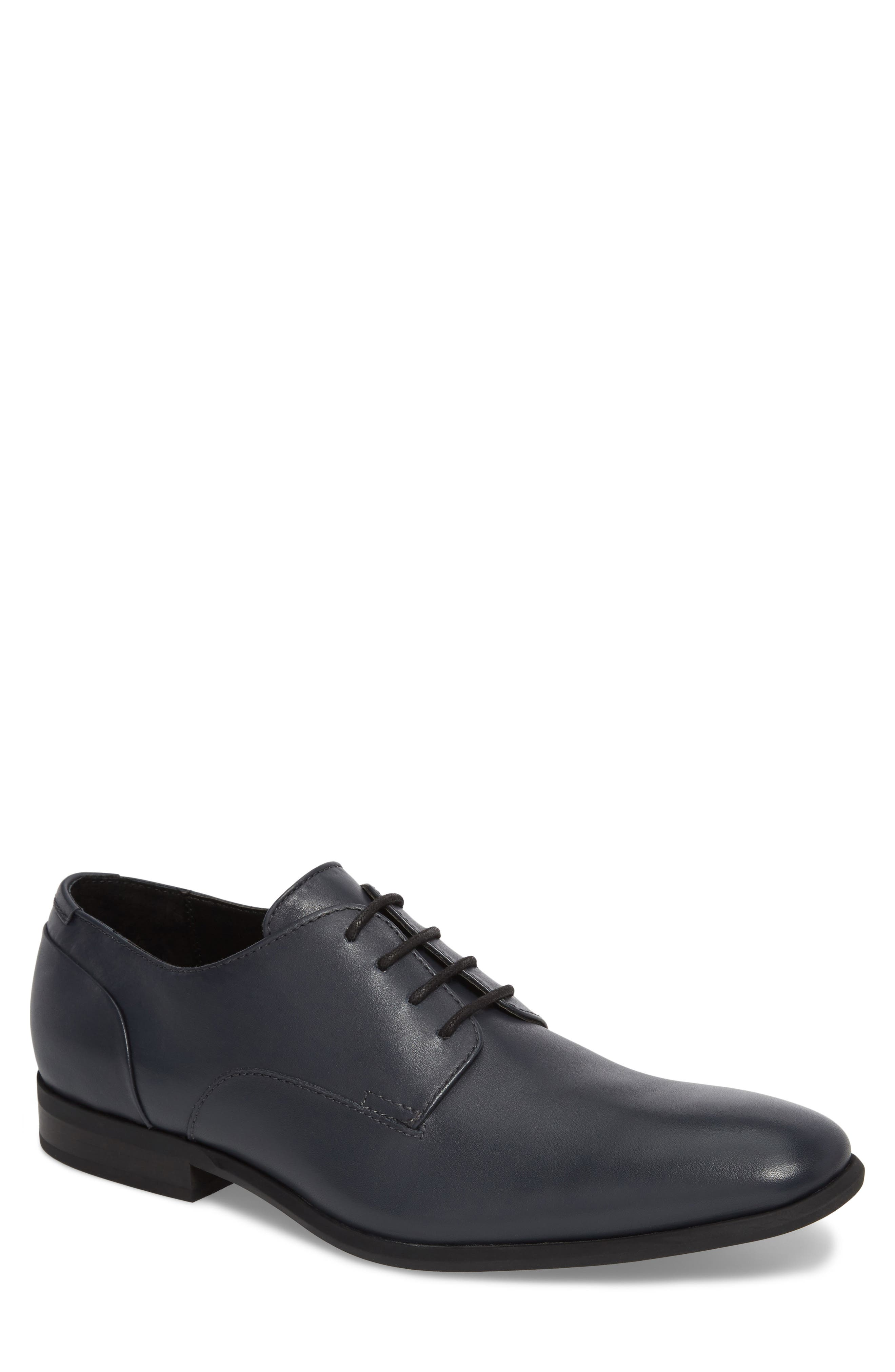 Calvin Klein Lucca Plain Toe Derby (Men)