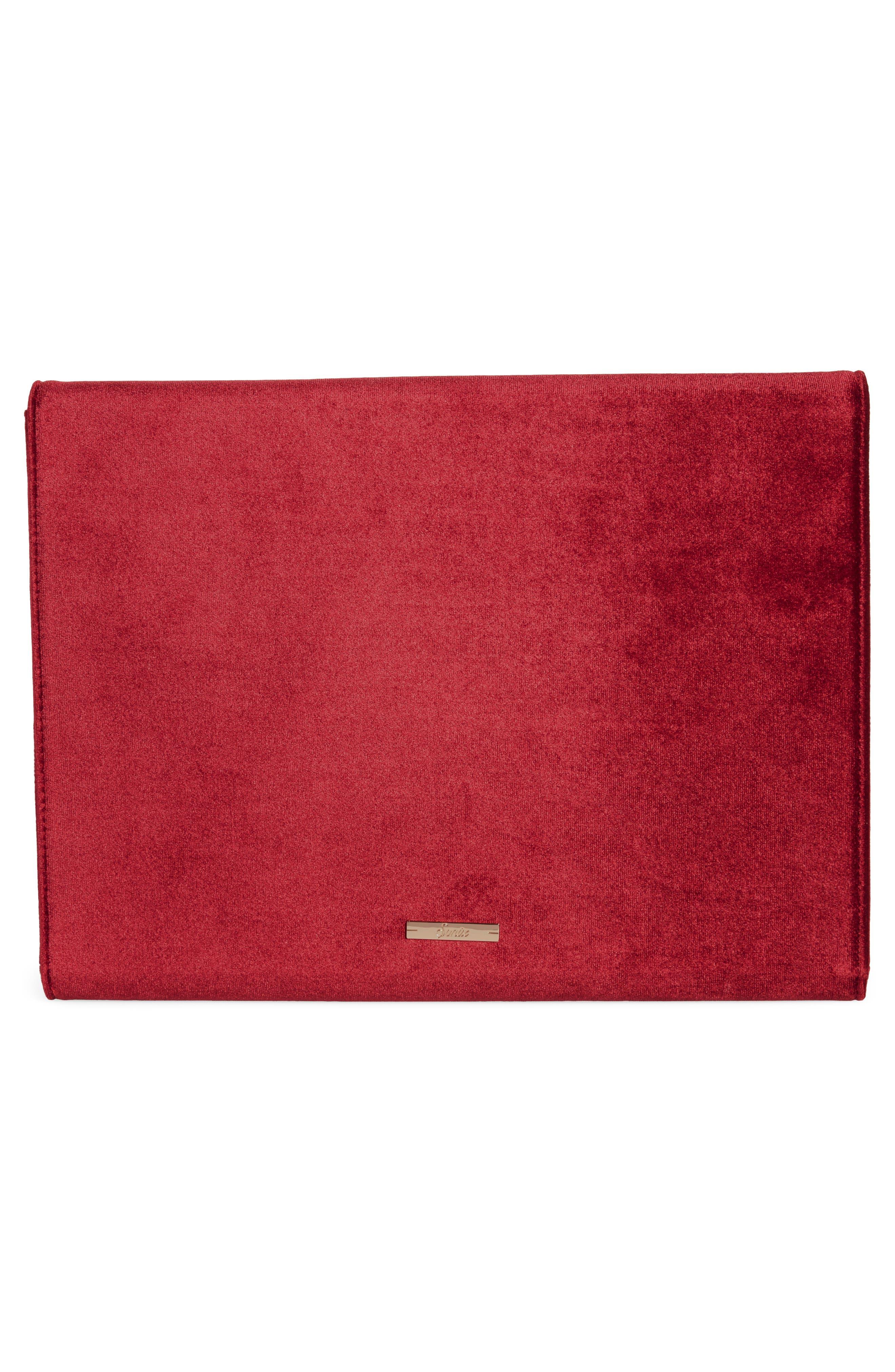Alternate Image 2  - Sonix Red Velvet Laptop Clutch