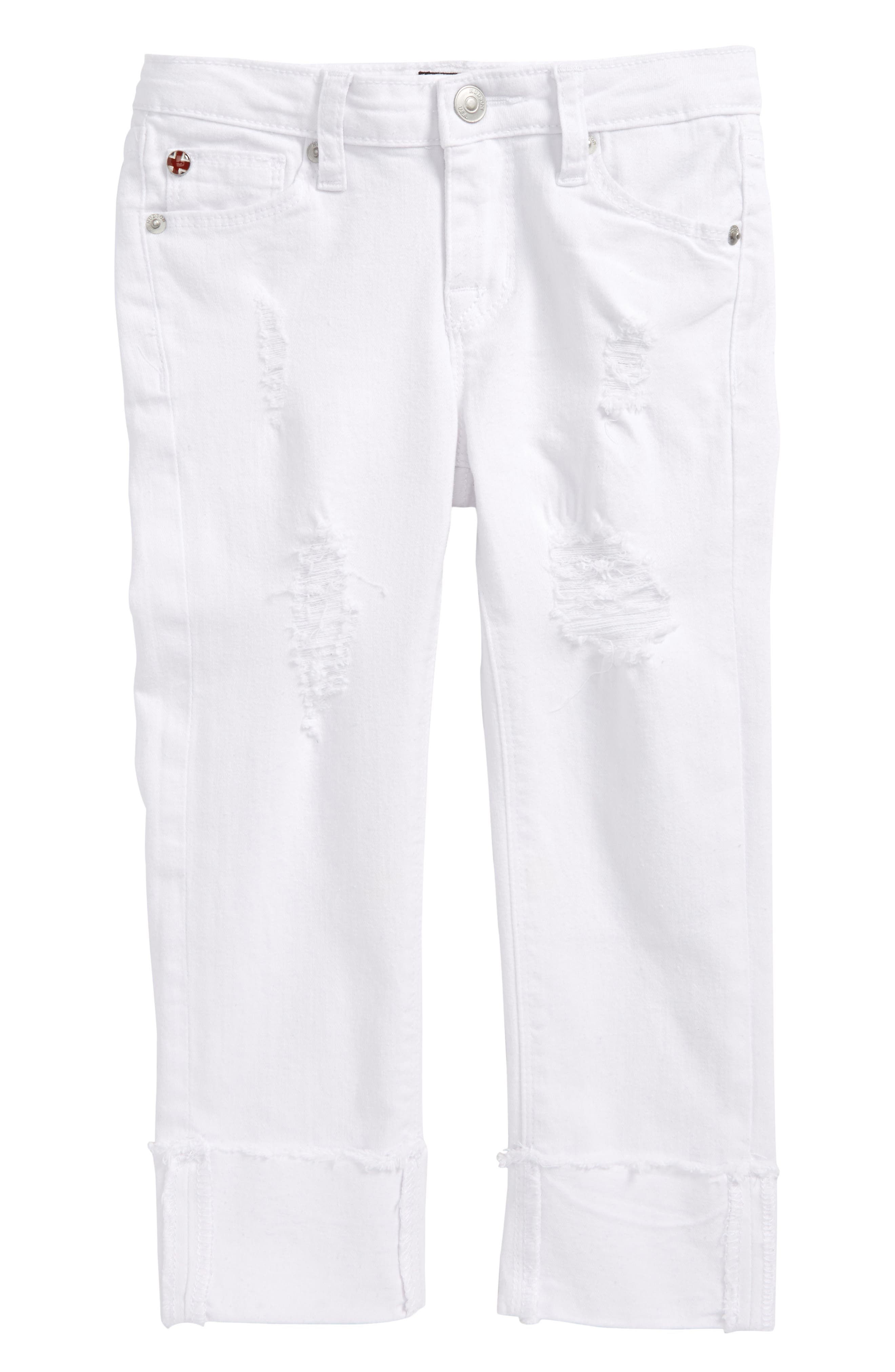 Hudson Kids Jessa Crop Skinny Jeans (Toddler Girls & Little Girls)