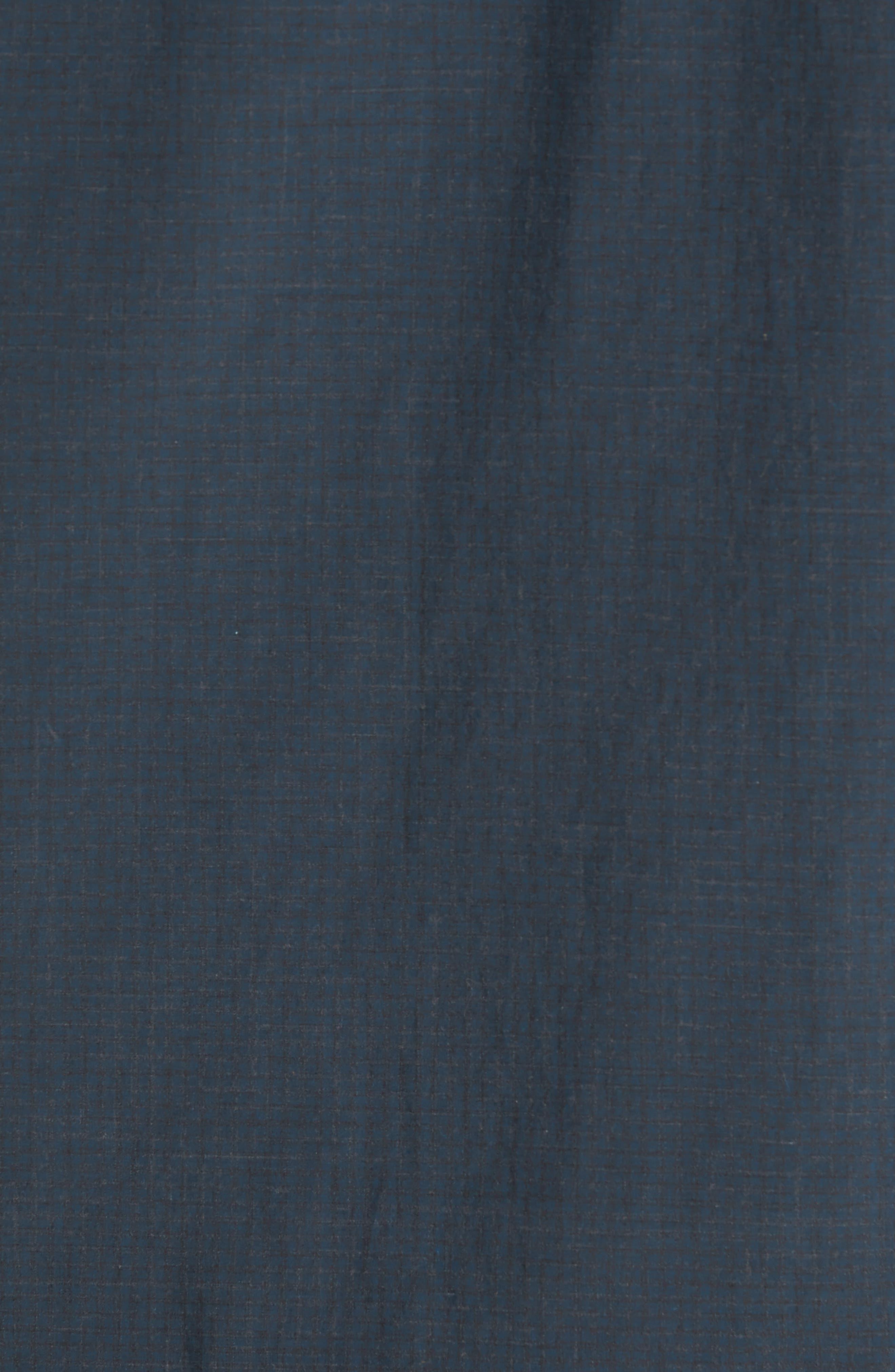 Rosedale Slim Fit Check Sport Shirt,                             Alternate thumbnail 5, color,                             Dark Green