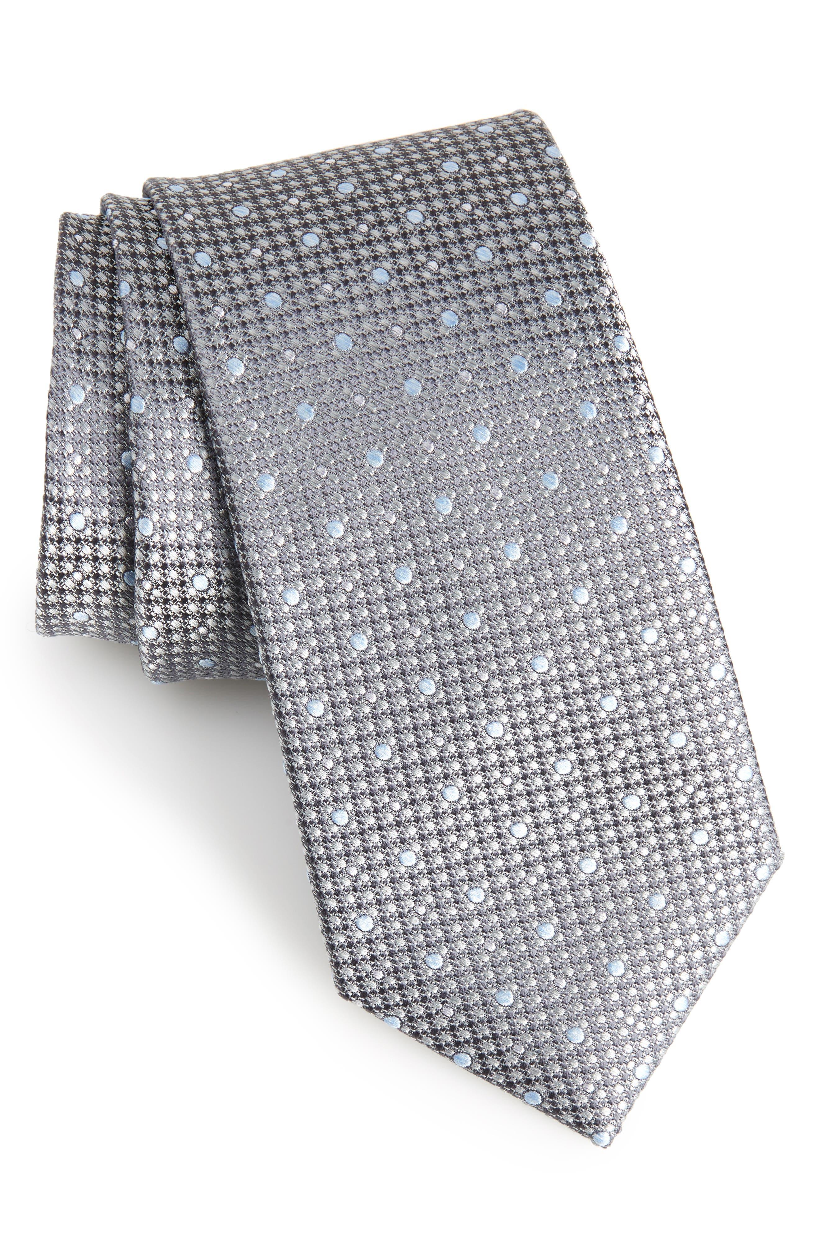 Calibrate Gest Dot Silk Tie