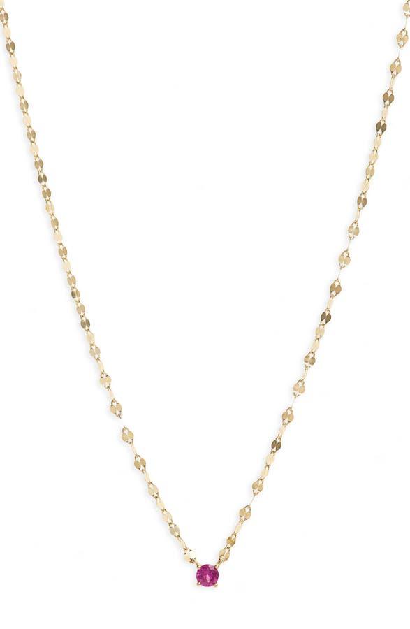 Lana Girl by Lana Jewelry Sapphire Pendant Necklace (Girls ...
