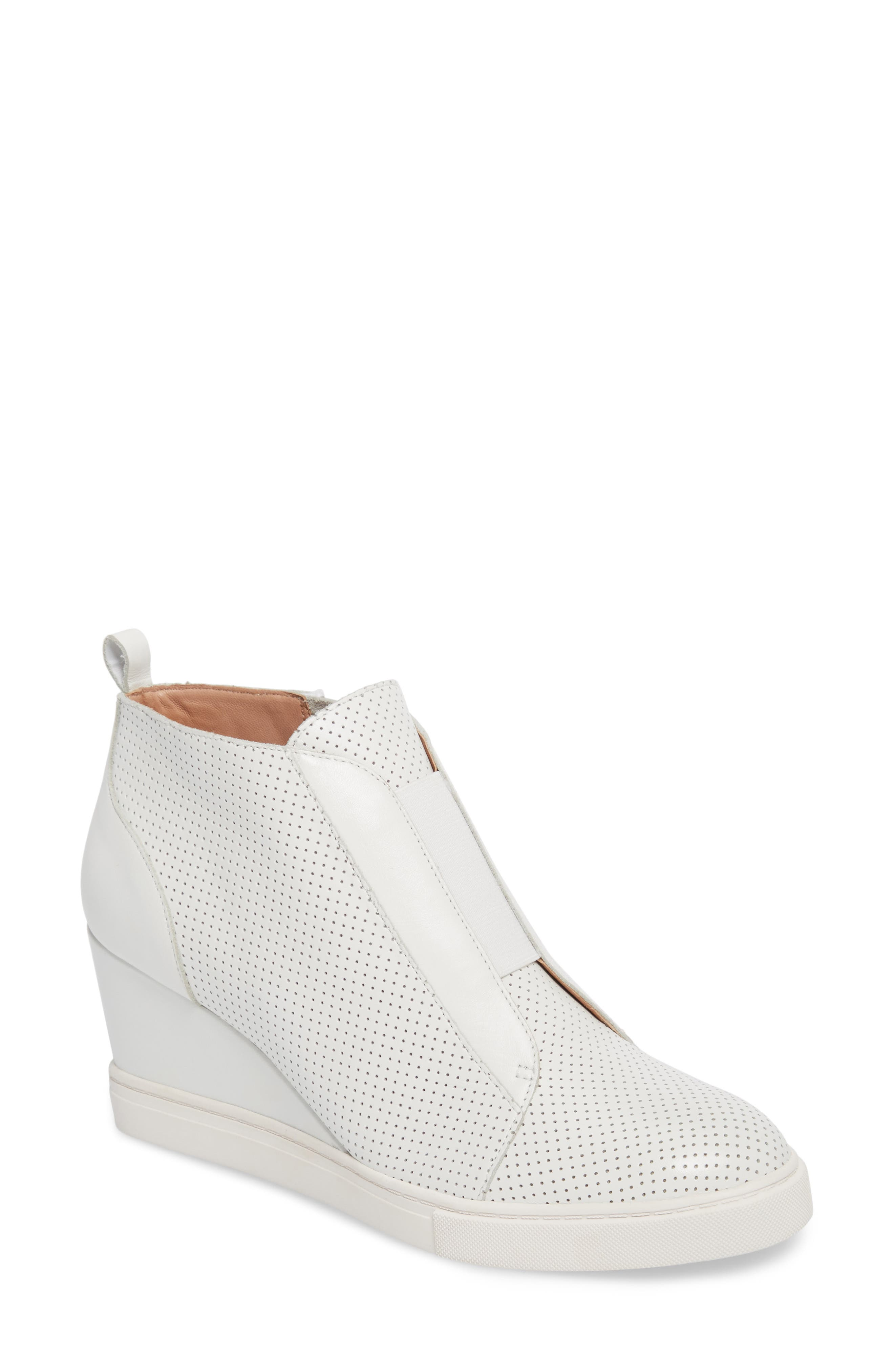 Alternate Image 1 Selected - Linea Paolo 'Felicia' Wedge Bootie (Women)