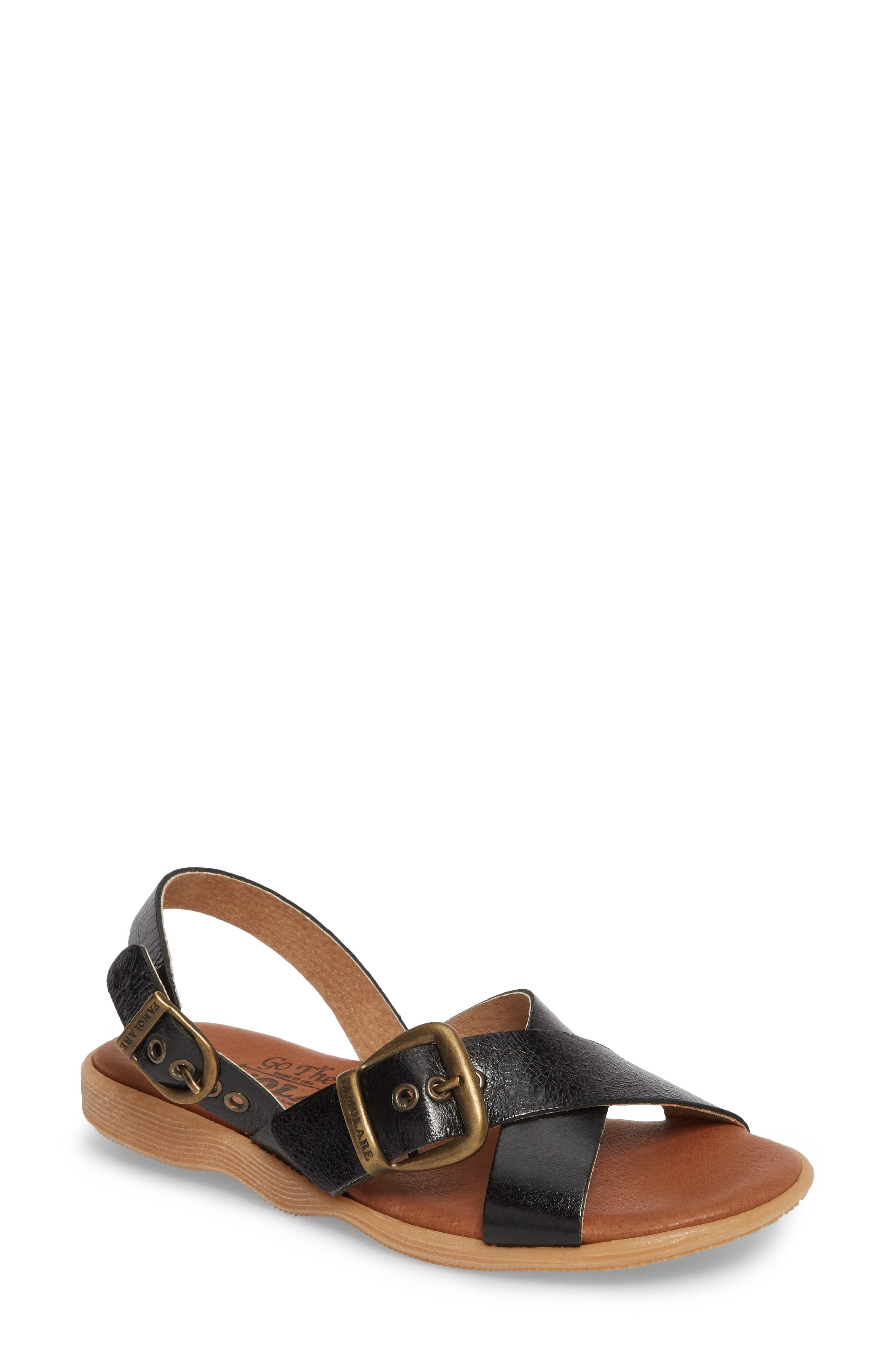 Summer Daze Sandal,                         Main,                         color, Coal