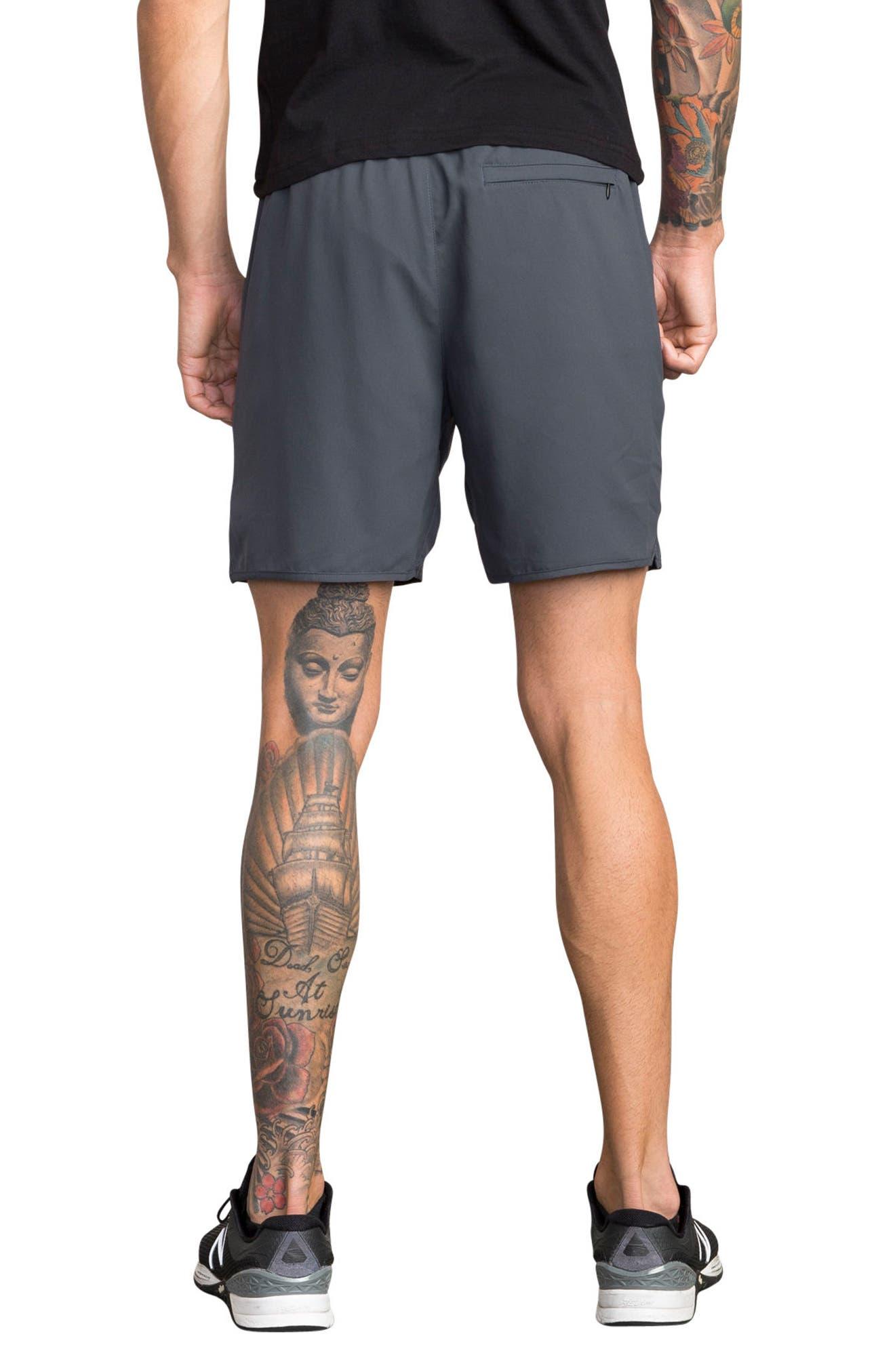 Alternate Image 2  - RVCA Yogger III Athletic Shorts