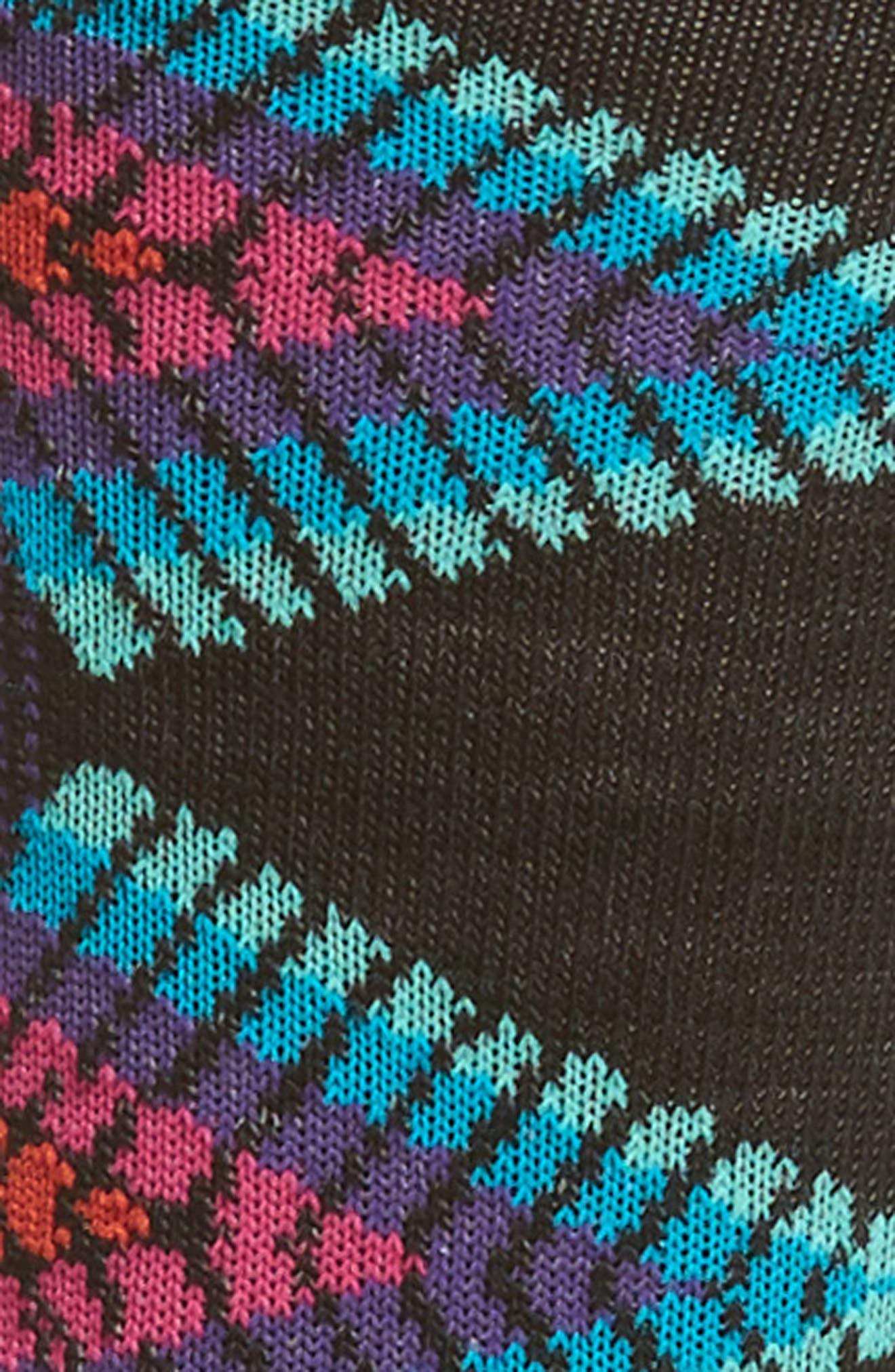 Tiva Crew Socks,                             Alternate thumbnail 2, color,                             Black