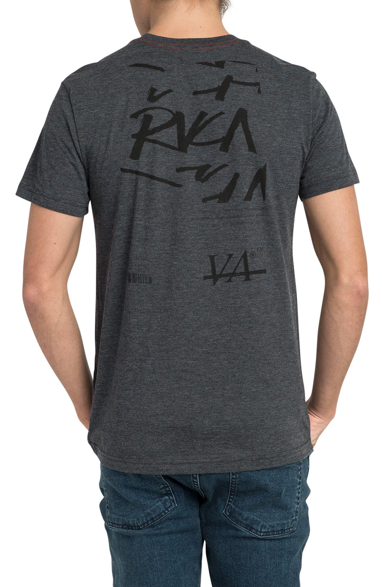 Alternate Image 2  - RVCA Displacement Graphic T-Shirt