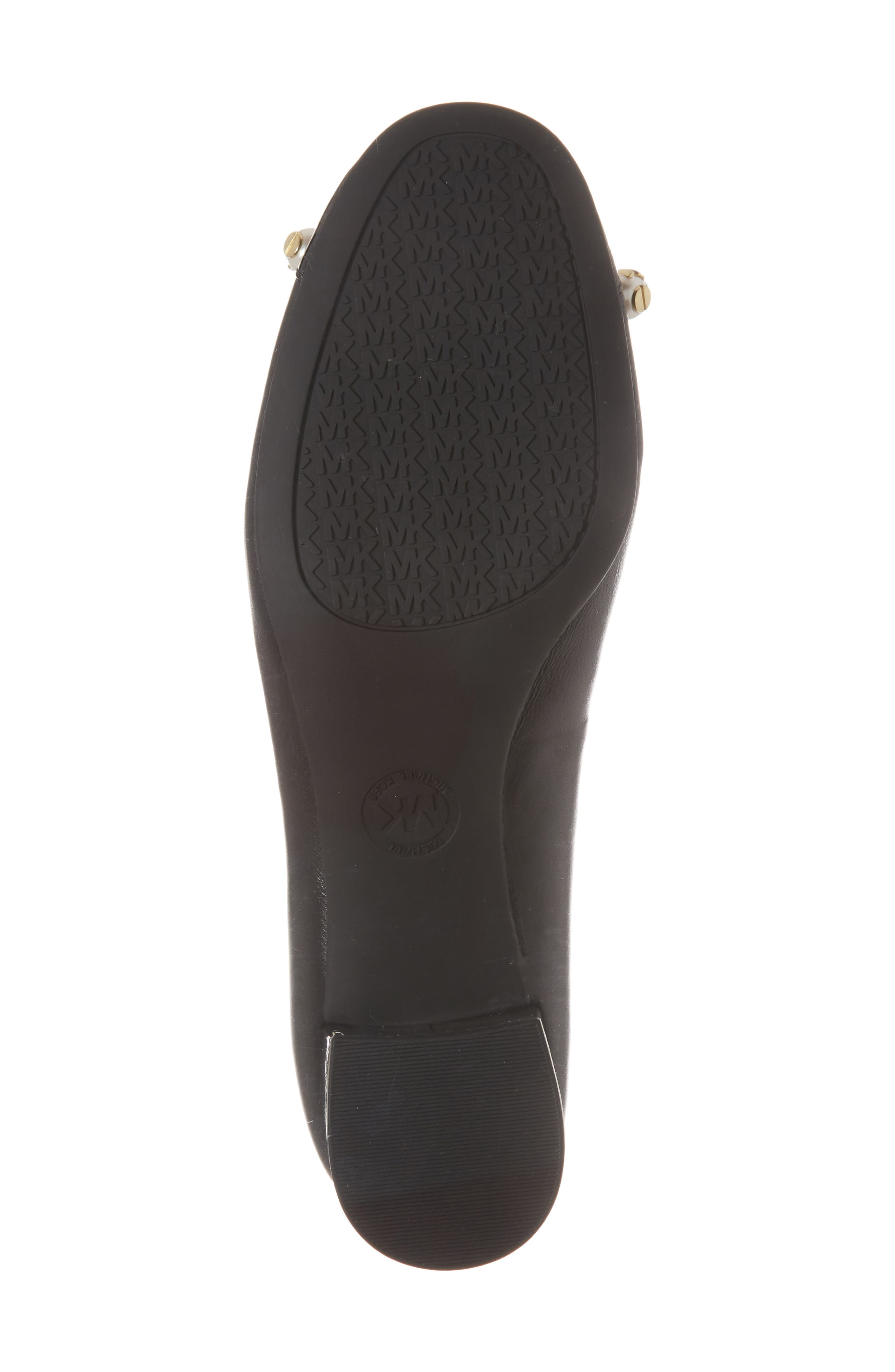 Gia Pump,                             Alternate thumbnail 6, color,                             Black Nappa Leather
