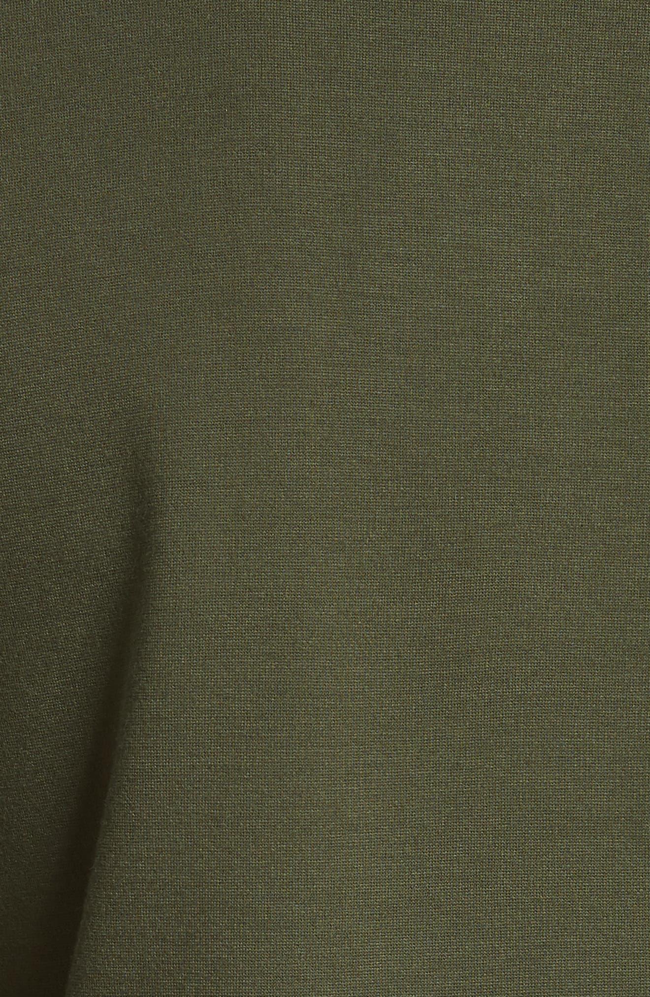 Asymmetrical Layer Top,                             Alternate thumbnail 5, color,                             Khaki