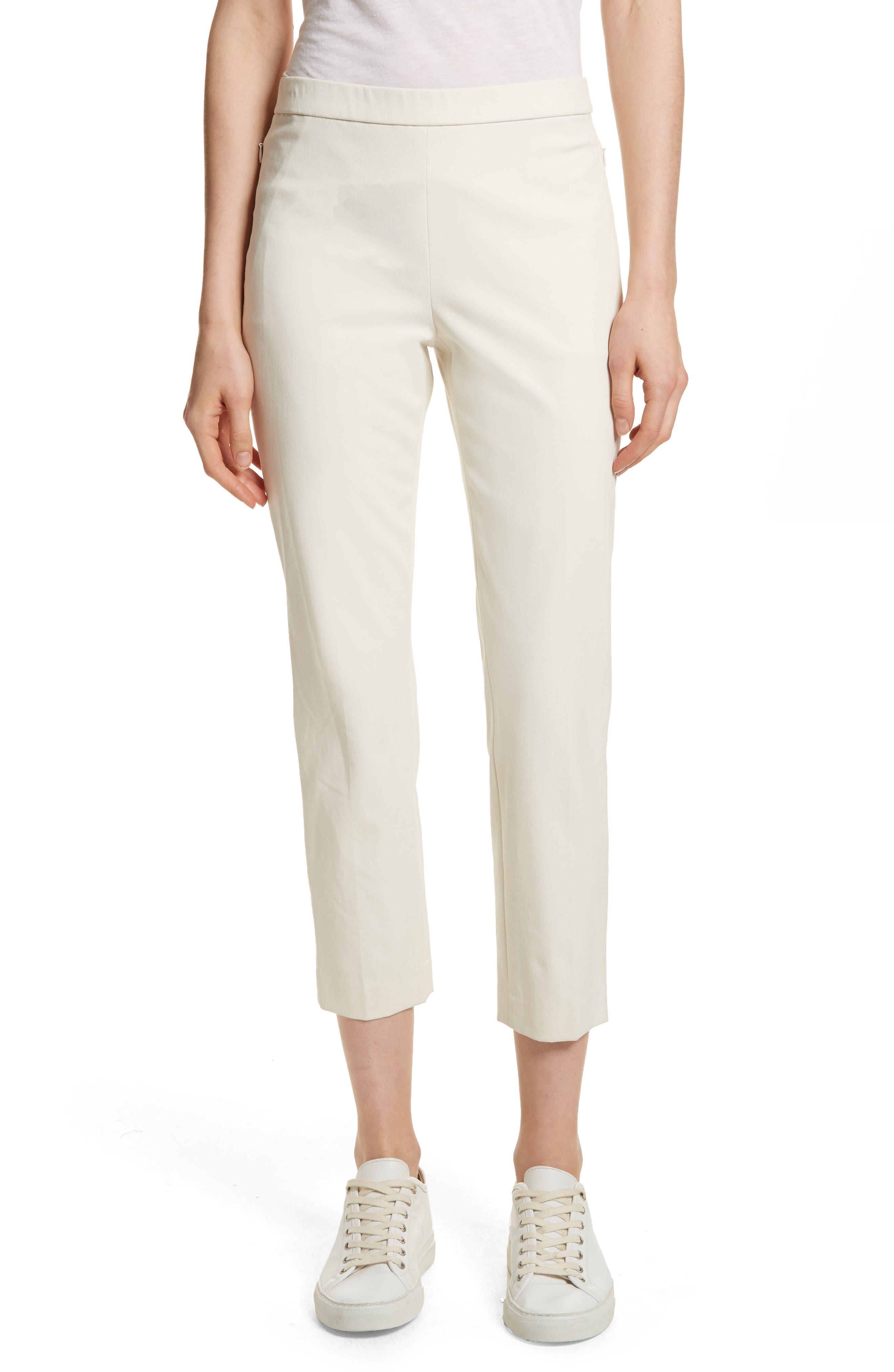 Basic Pull-On Pants,                             Main thumbnail 1, color,                             Ivory