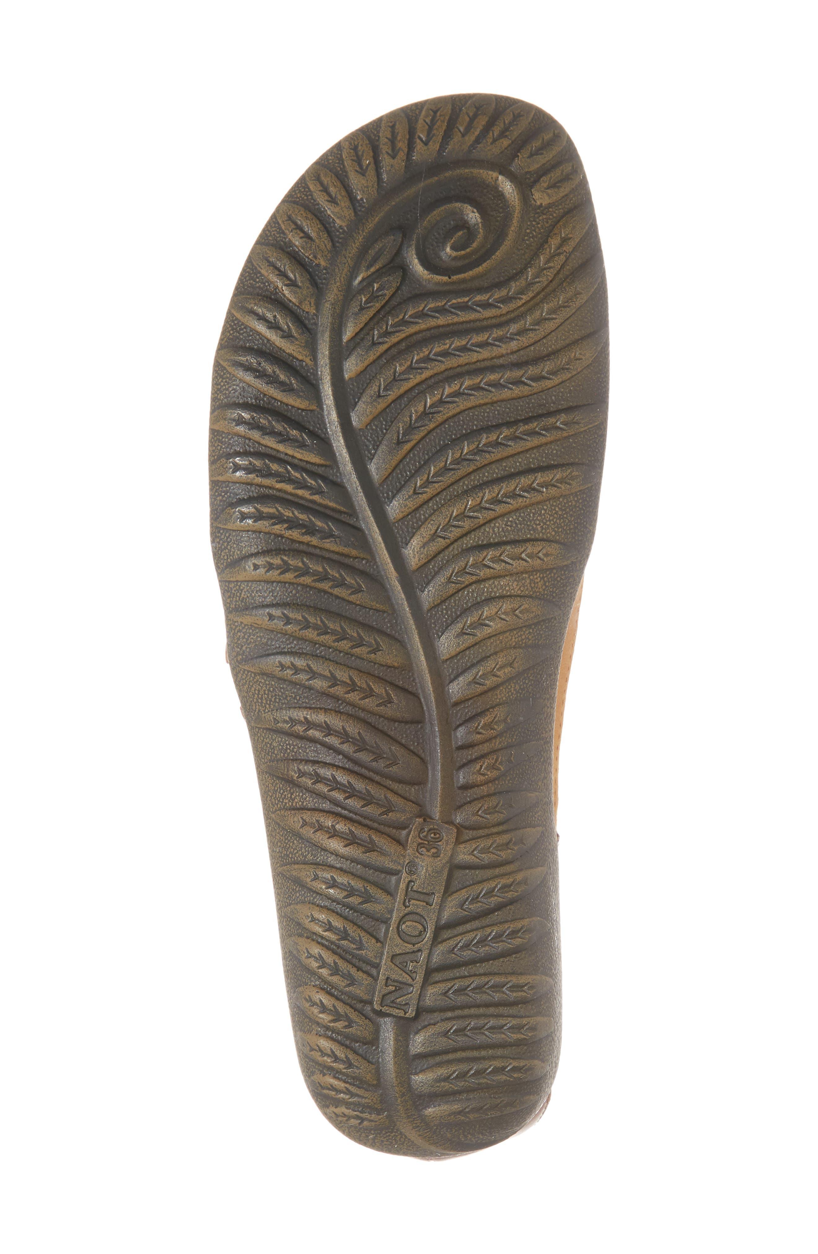 'Papaki' Sandal,                             Alternate thumbnail 6, color,                             Oily Dune Nubuck