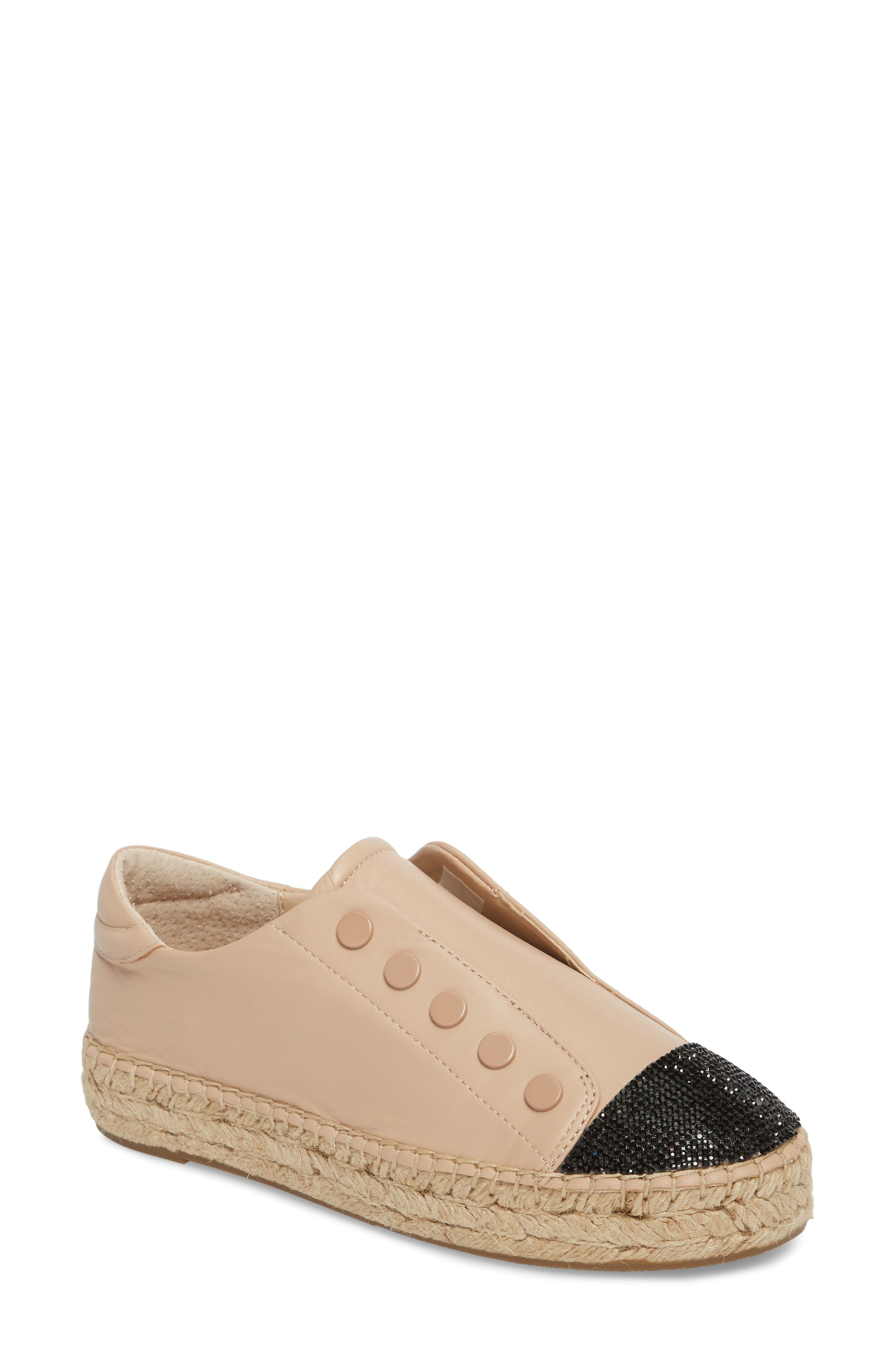 Juniper Espadrille Sneaker,                             Main thumbnail 1, color,                             Light Latte