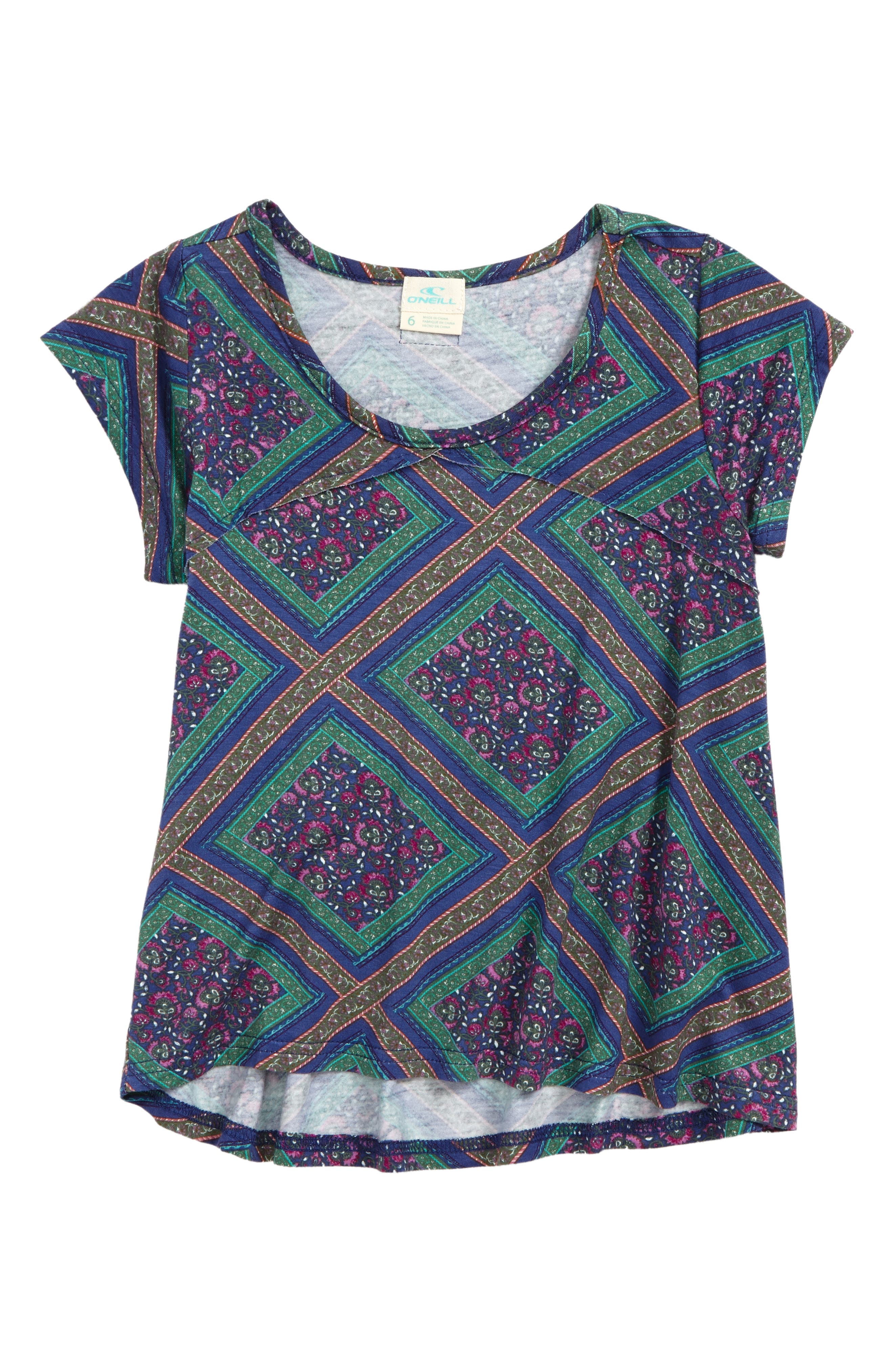 Alternate Image 1 Selected - O'Neill Emery Knit Top (Toddler Girls & Little Girls)