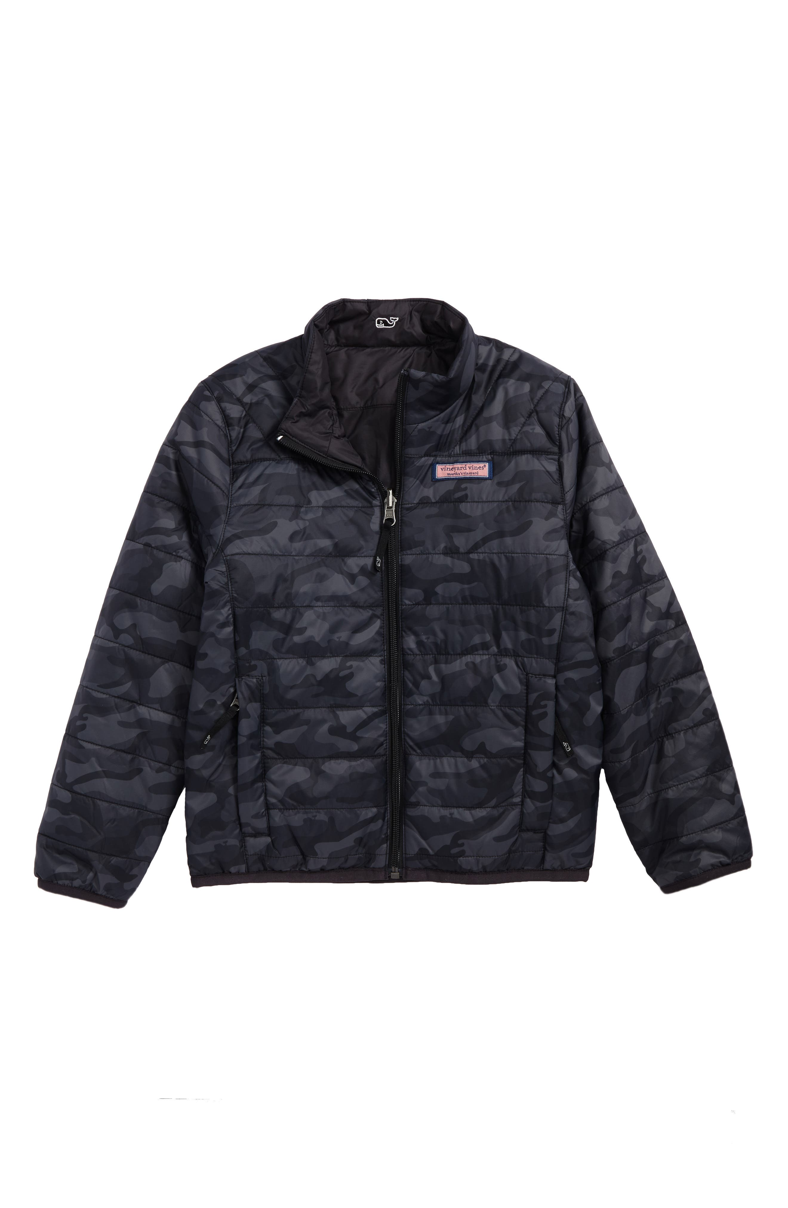 Reversible Mountain Weekend Jacket,                         Main,                         color, Jet Black
