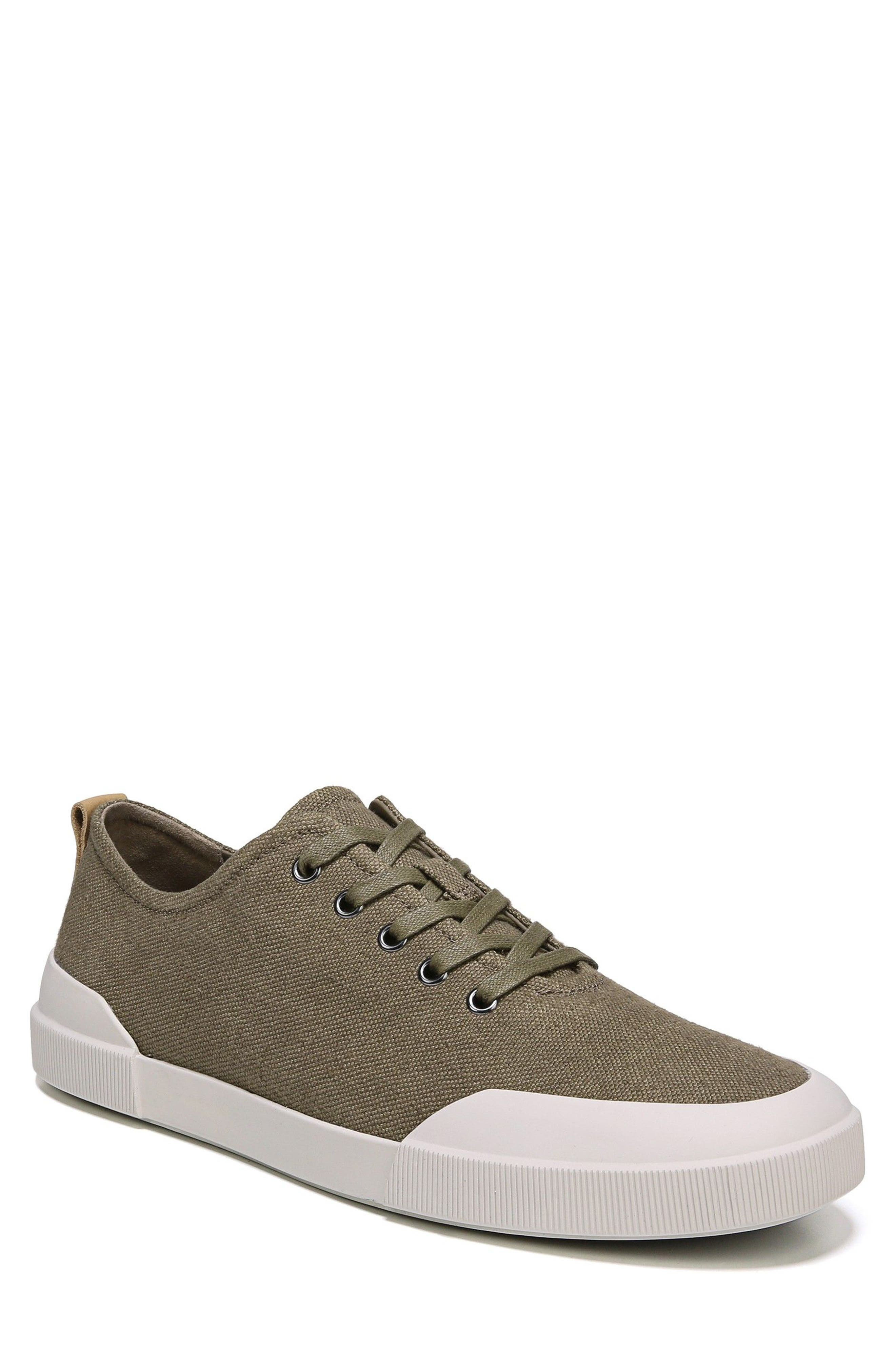 Victor Low Top Sneaker,                             Main thumbnail 1, color,                             Flint/ Cuoio