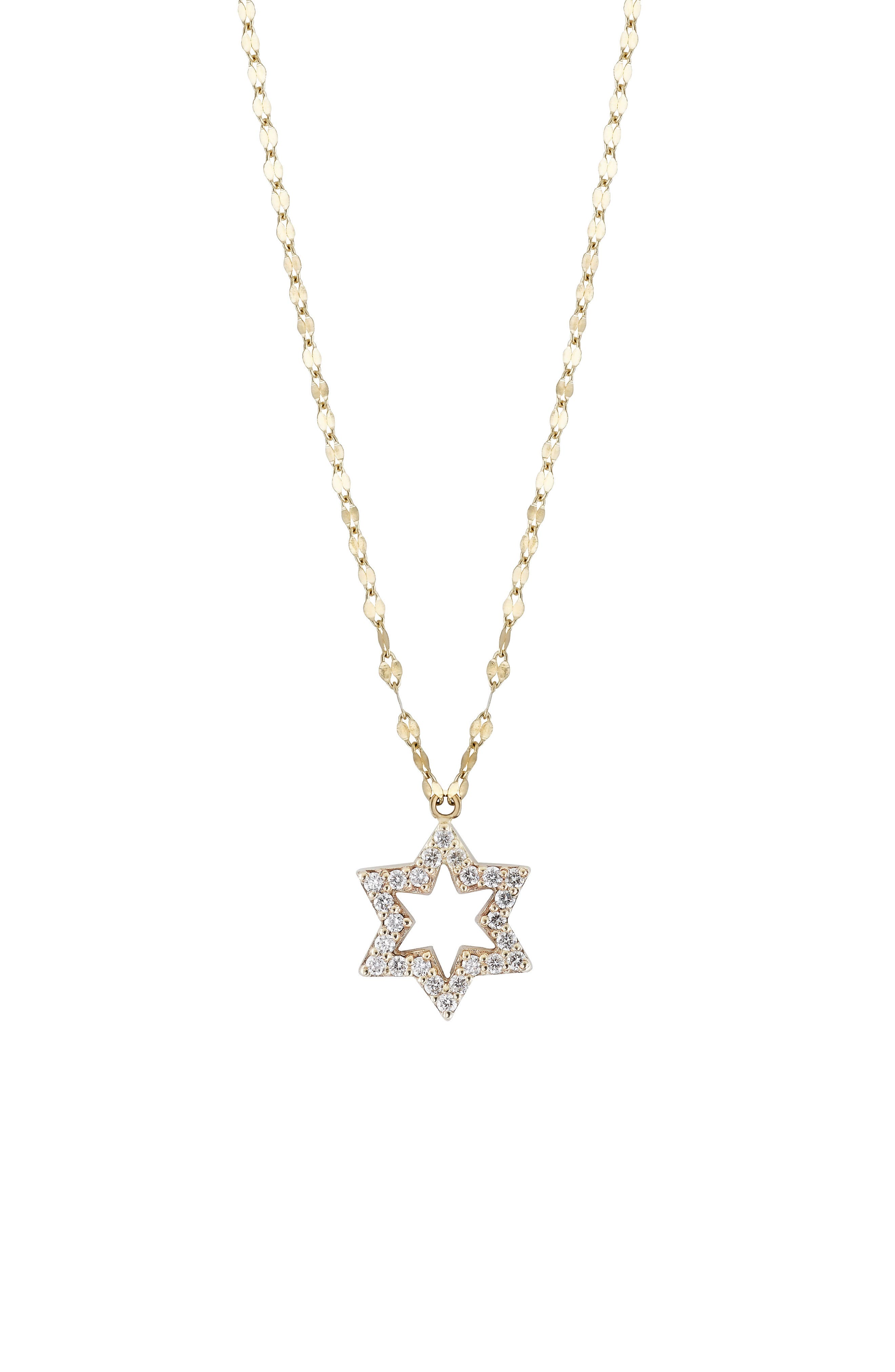 Alternate Image 3  - Lana Girl by Lana Jewelry Diamond Star Pendant Necklace