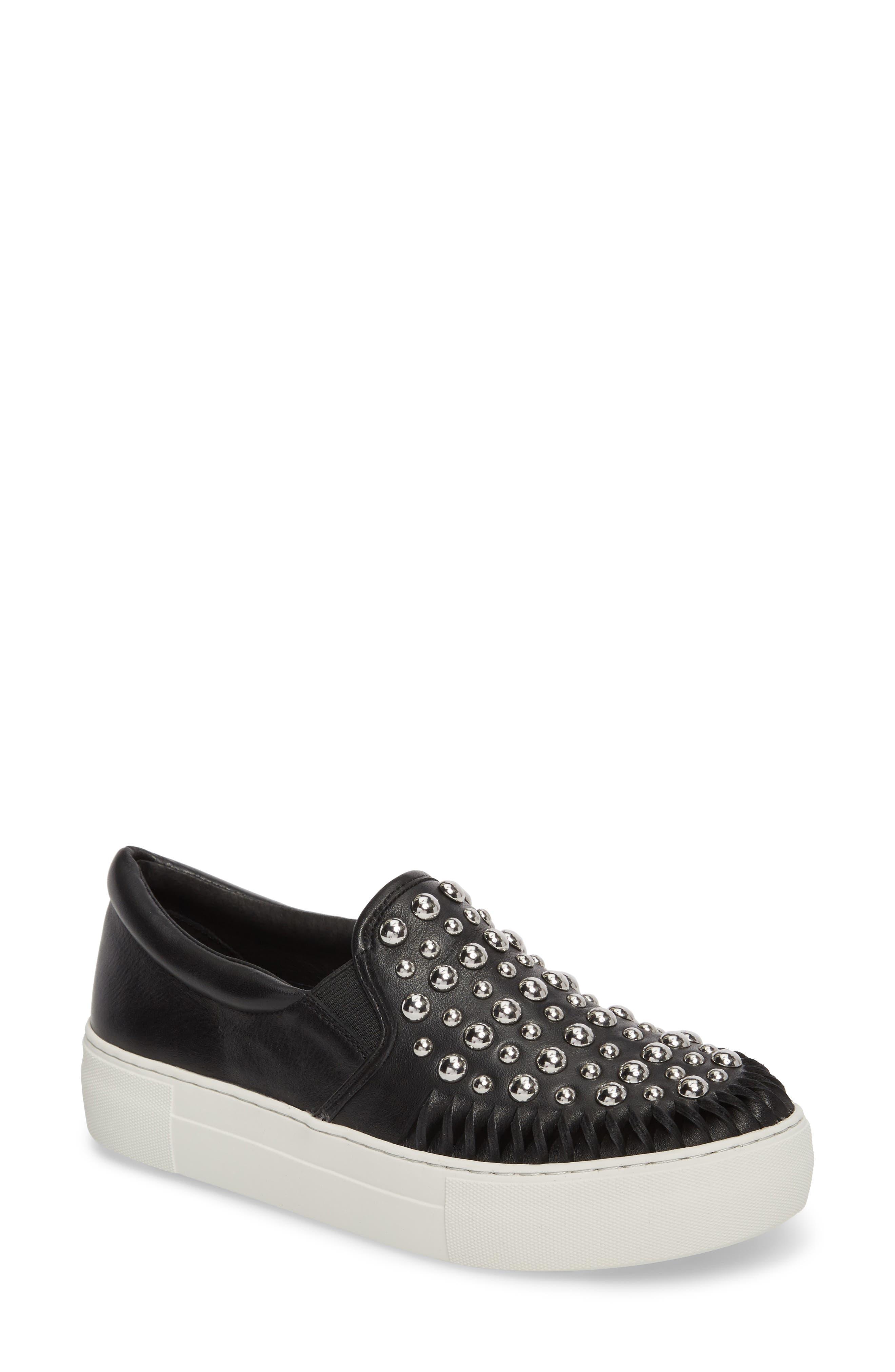 Alternate Image 1 Selected - JSlides AZT Studded Slip-On Sneaker (Women)