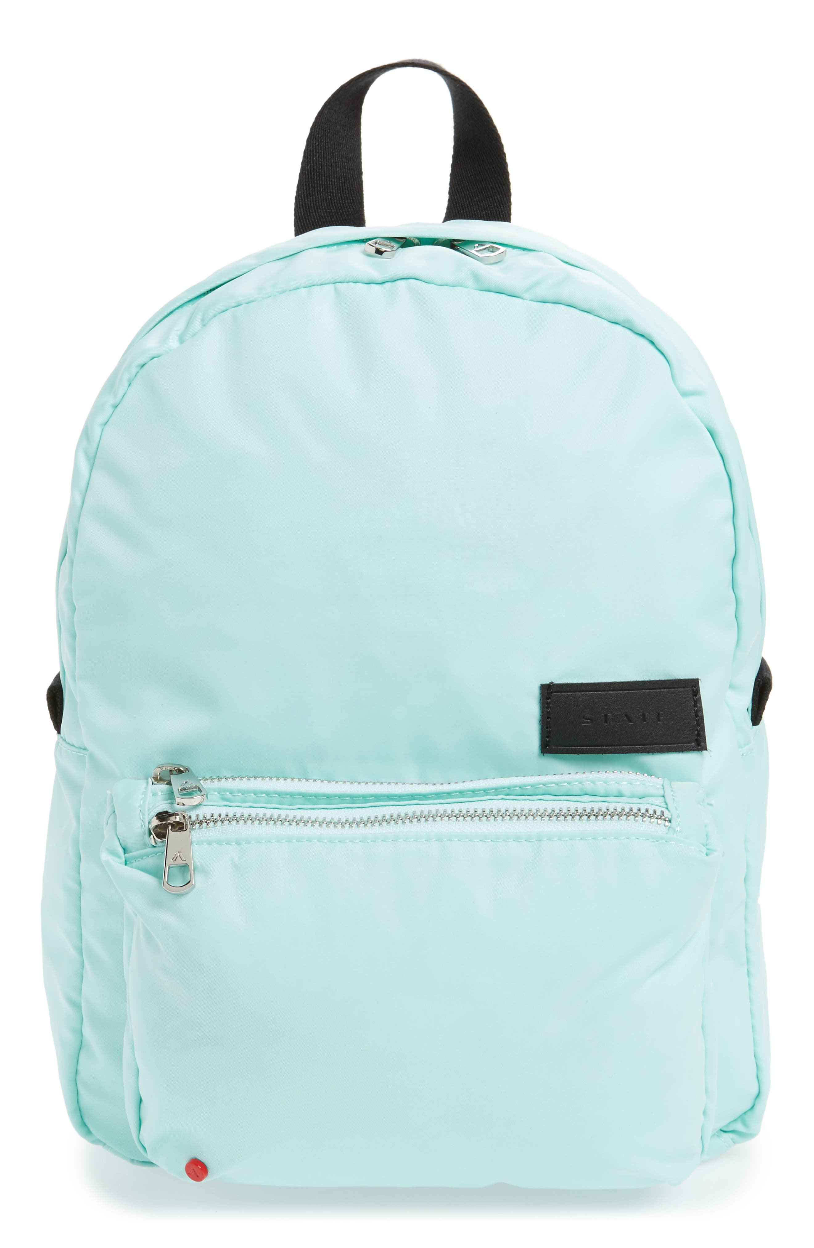 State THE HEIGHTS MINI LORIMER NYLON BACKPACK - BLUE