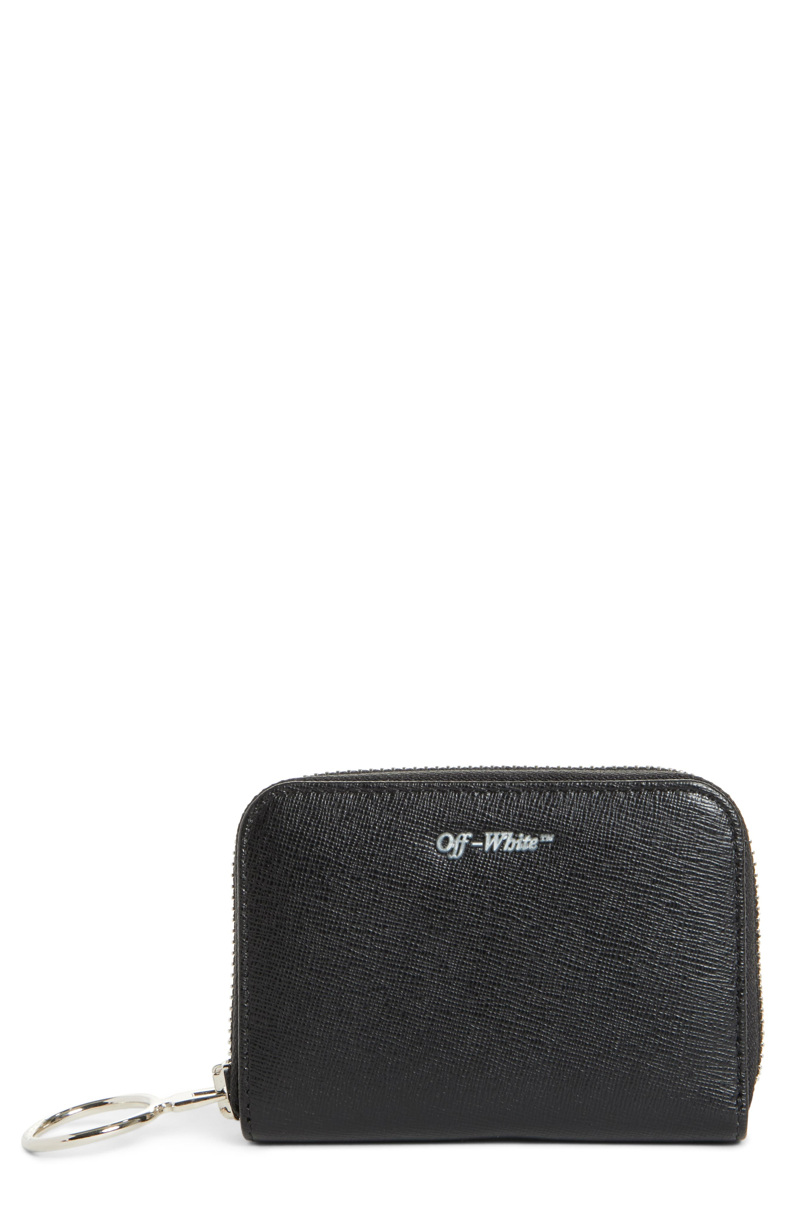 Off-White Medium Zip Wallet