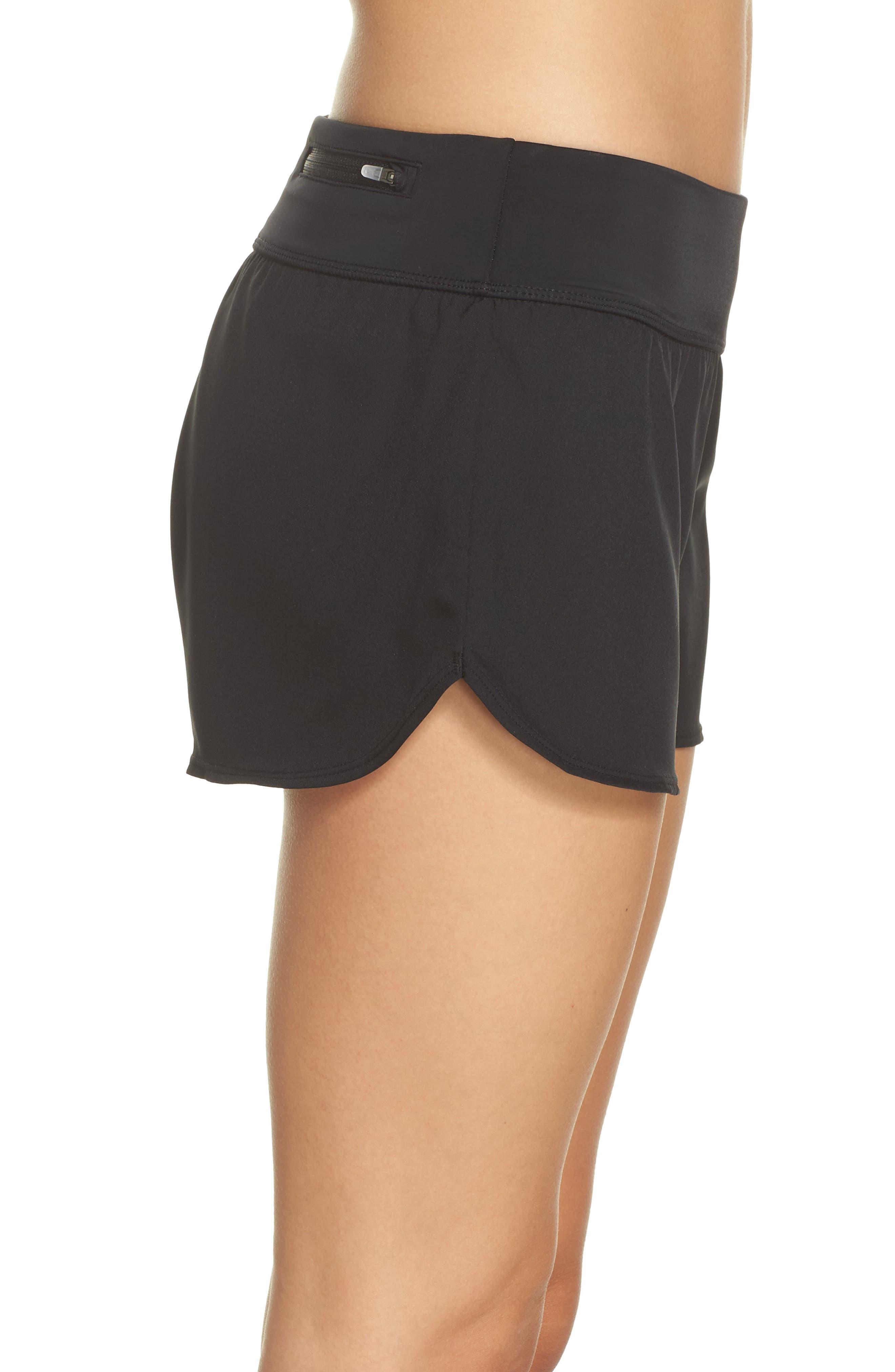 Swim Board Shorts,                             Alternate thumbnail 3, color,                             Black