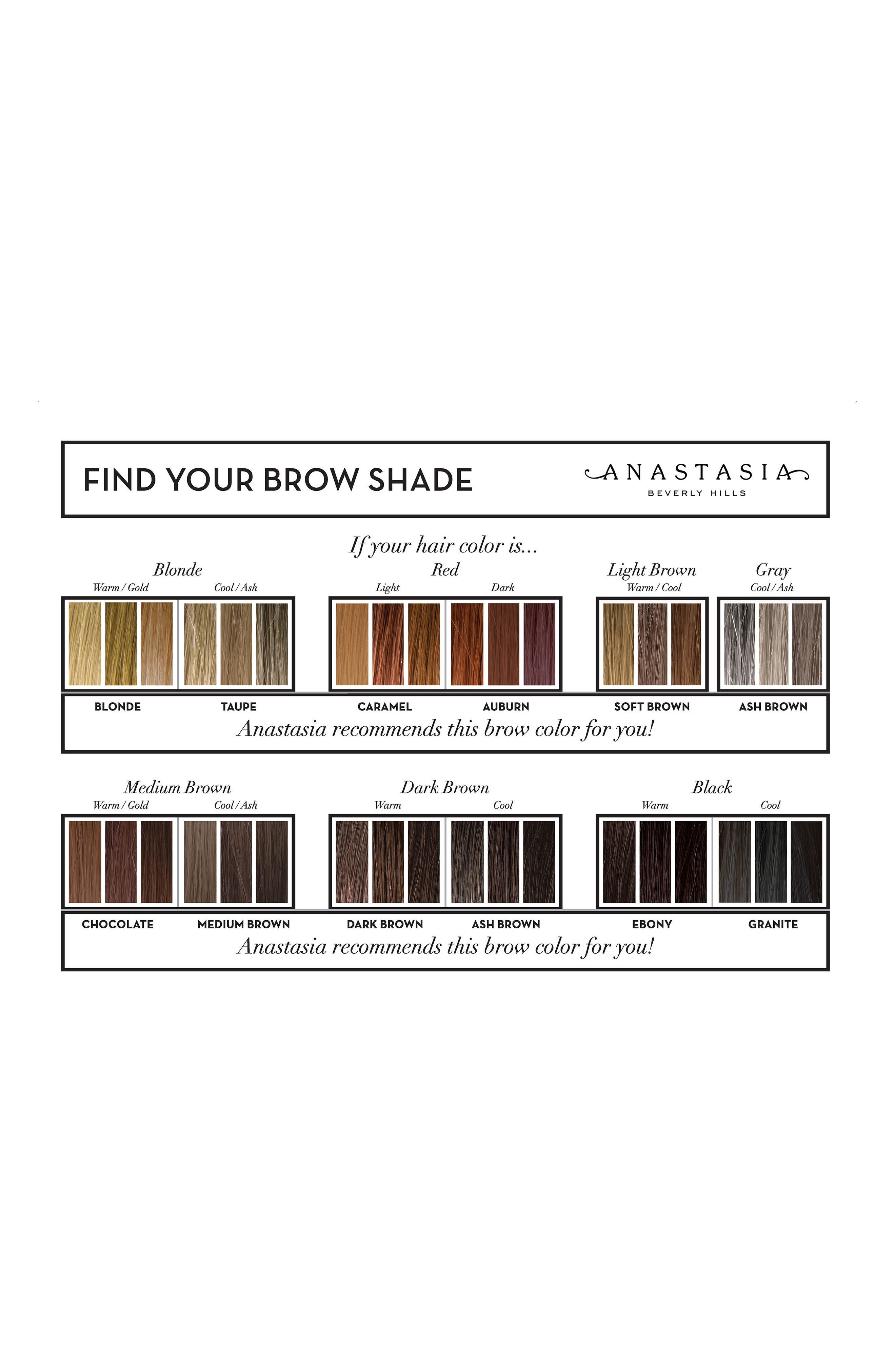 Alternate Image 3  - Anastasia Beverly Hills Dipbrow Pomade Waterproof Brow Color
