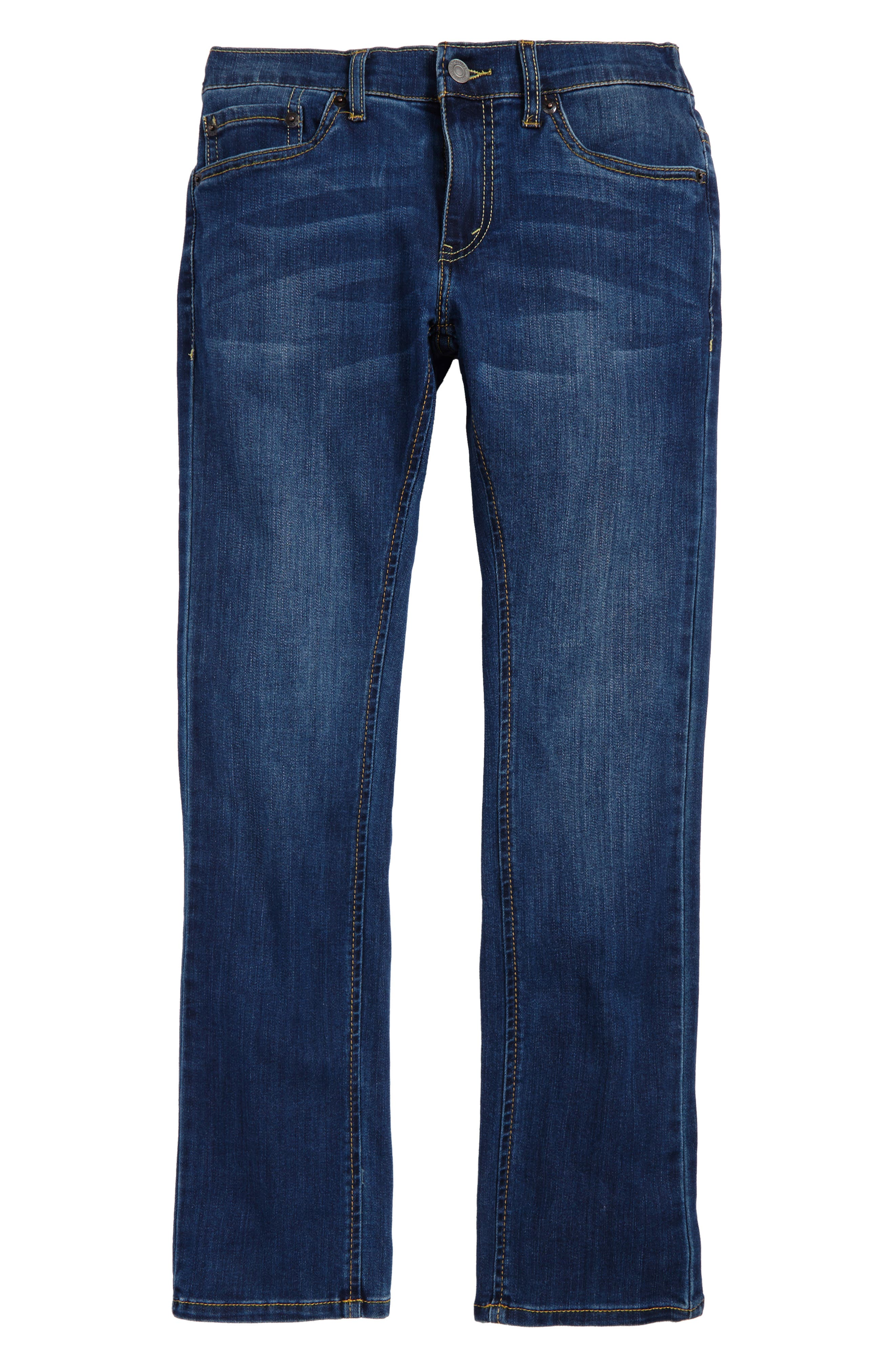 Main Image - Levi's® Comfort Slim Fit Straight Leg Jeans (Big Boys)