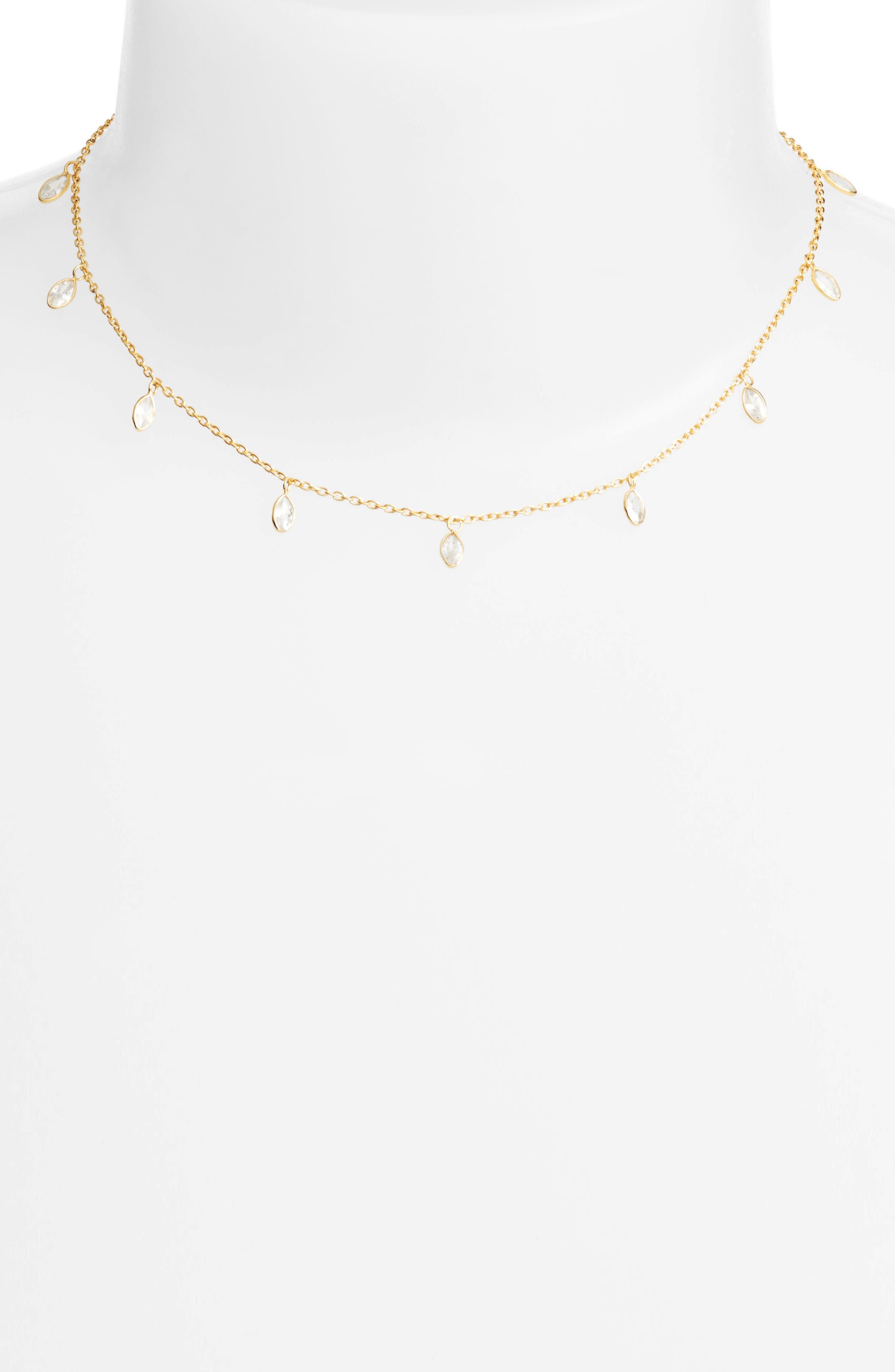 Chan Luu Crystal Short Necklace