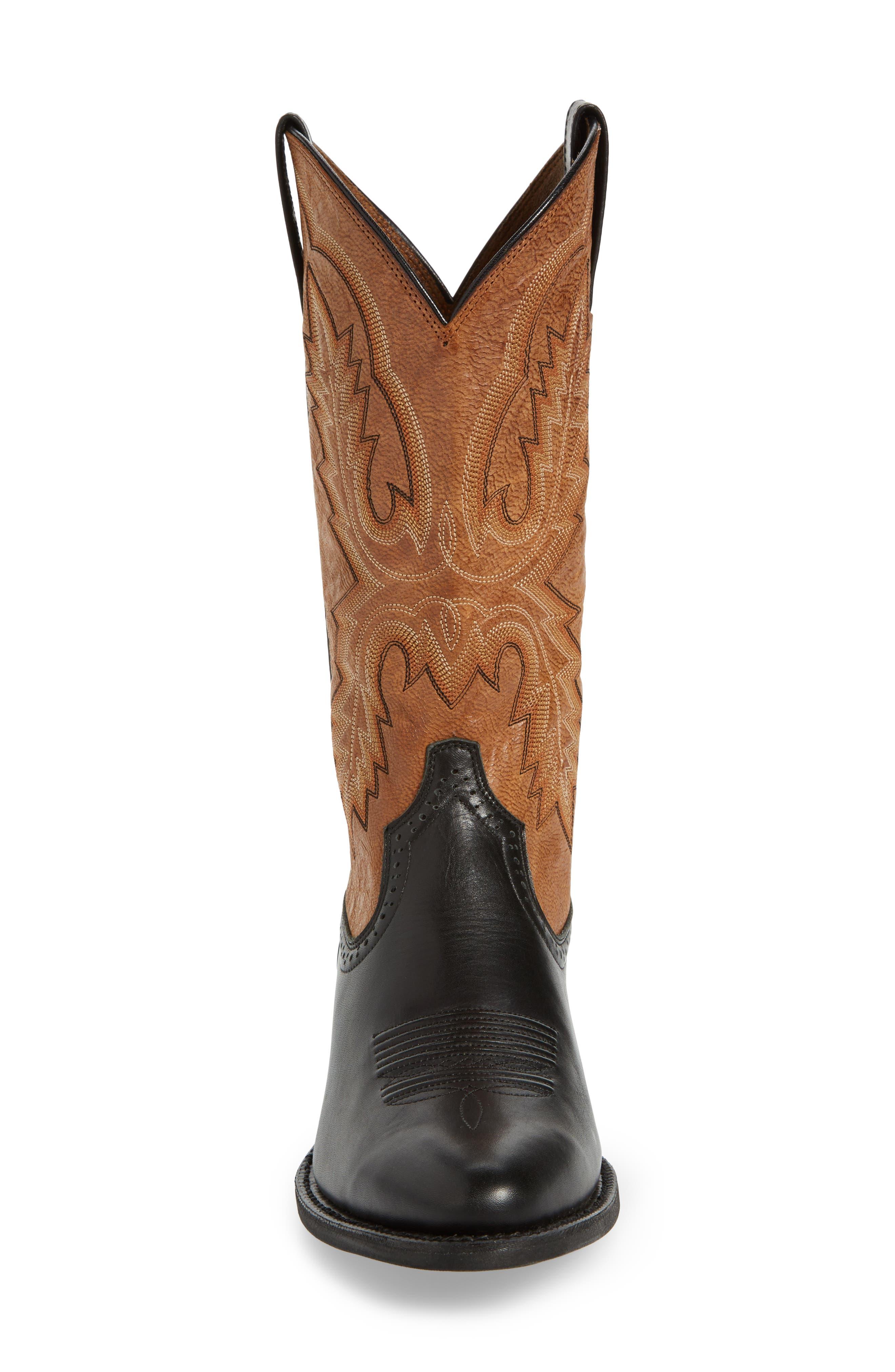 Alternate Image 4  - Ariat Heritage Calhoun Western R-Toe Boot (Men)