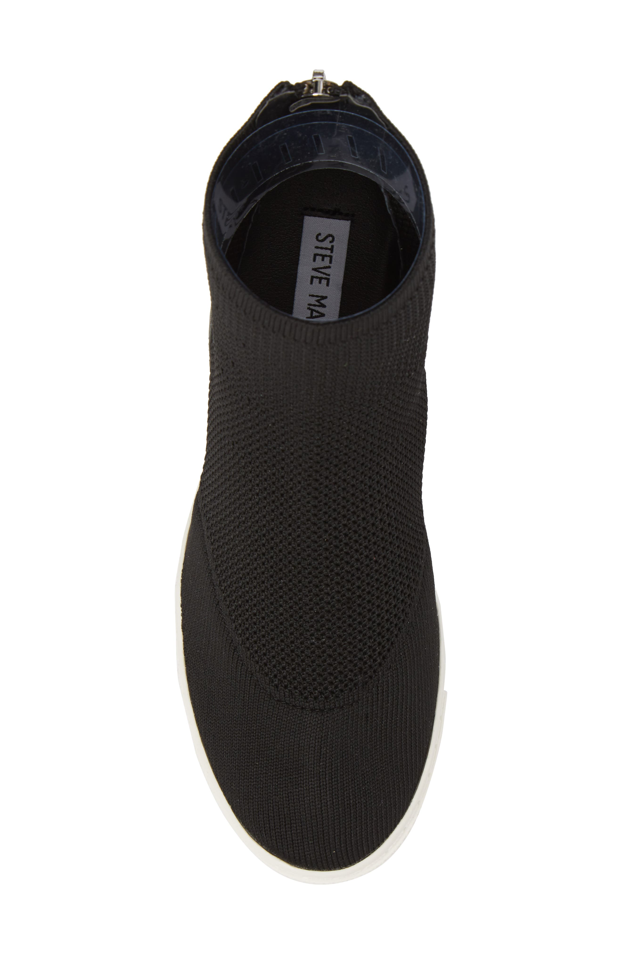 Lizzy Sneaker Bootie,                             Alternate thumbnail 5, color,                             Black