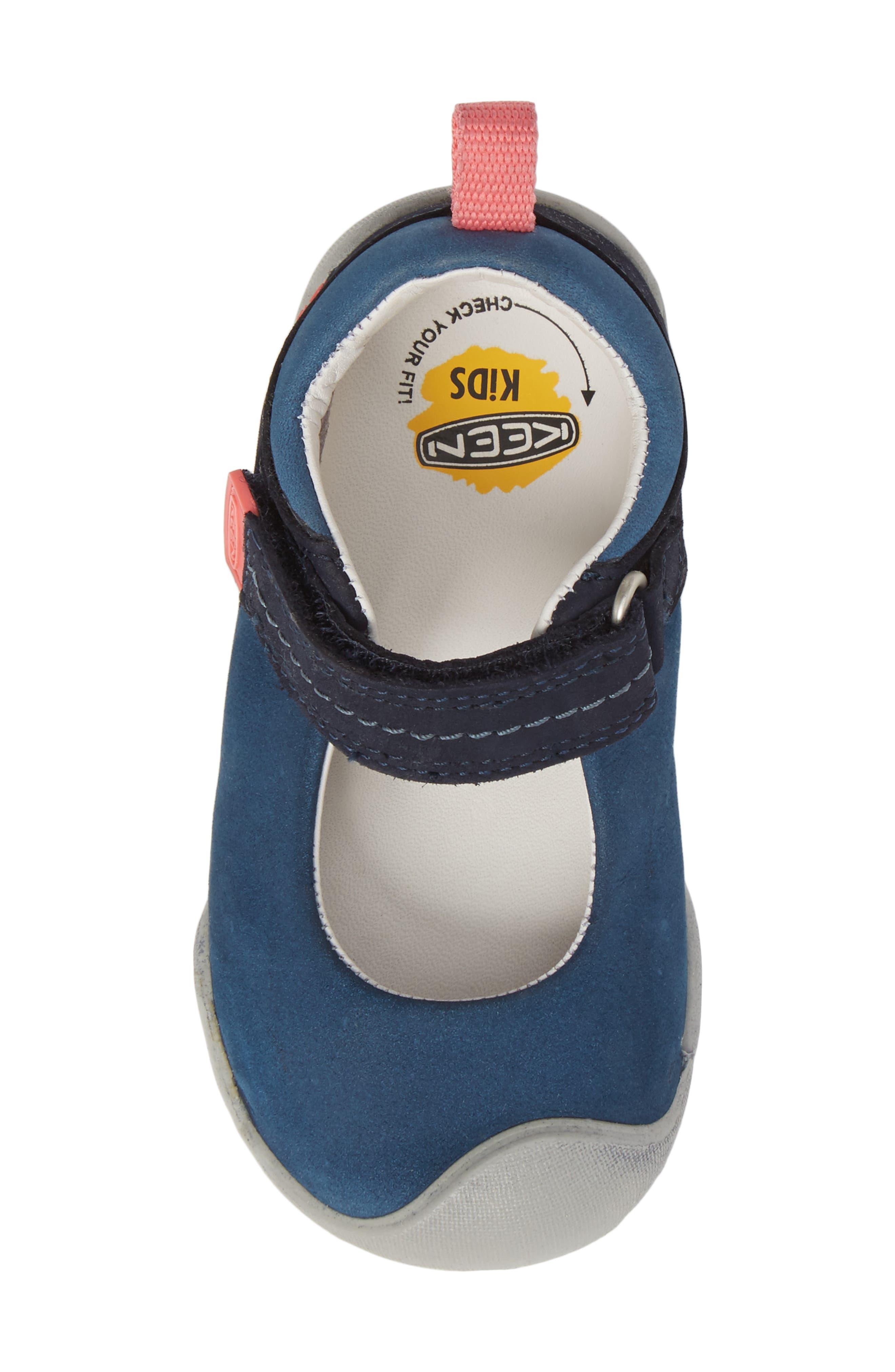Pep Mary Jane-T Sneaker,                             Alternate thumbnail 5, color,                             Dress Blues/ Sugar Coral