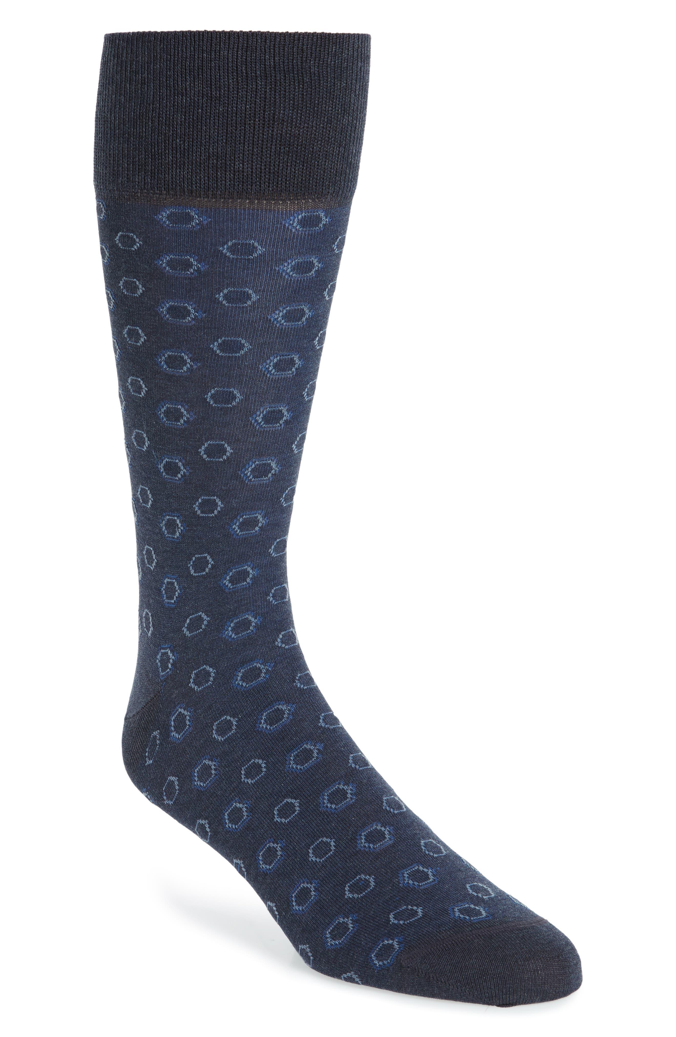 Alternate Image 1 Selected - John W. Nordstrom® Hexagon Socks