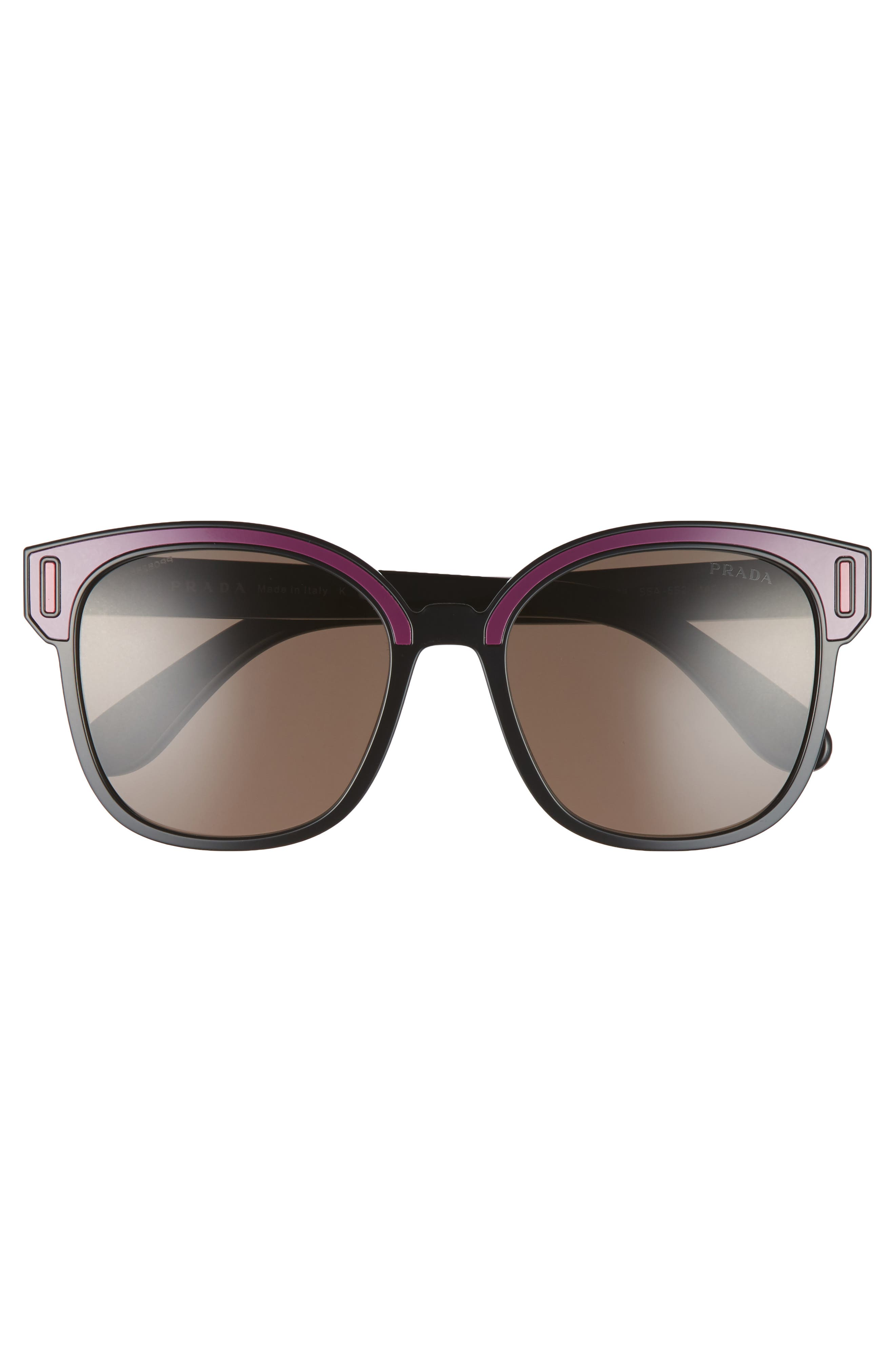 Alternate Image 3  - Prada 53mm Colorblock Square Sunglasses