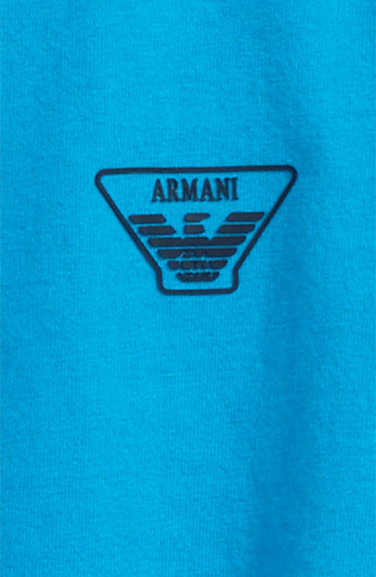 Logo T-Shirt,                             Alternate thumbnail 2, color,                             Turquoise