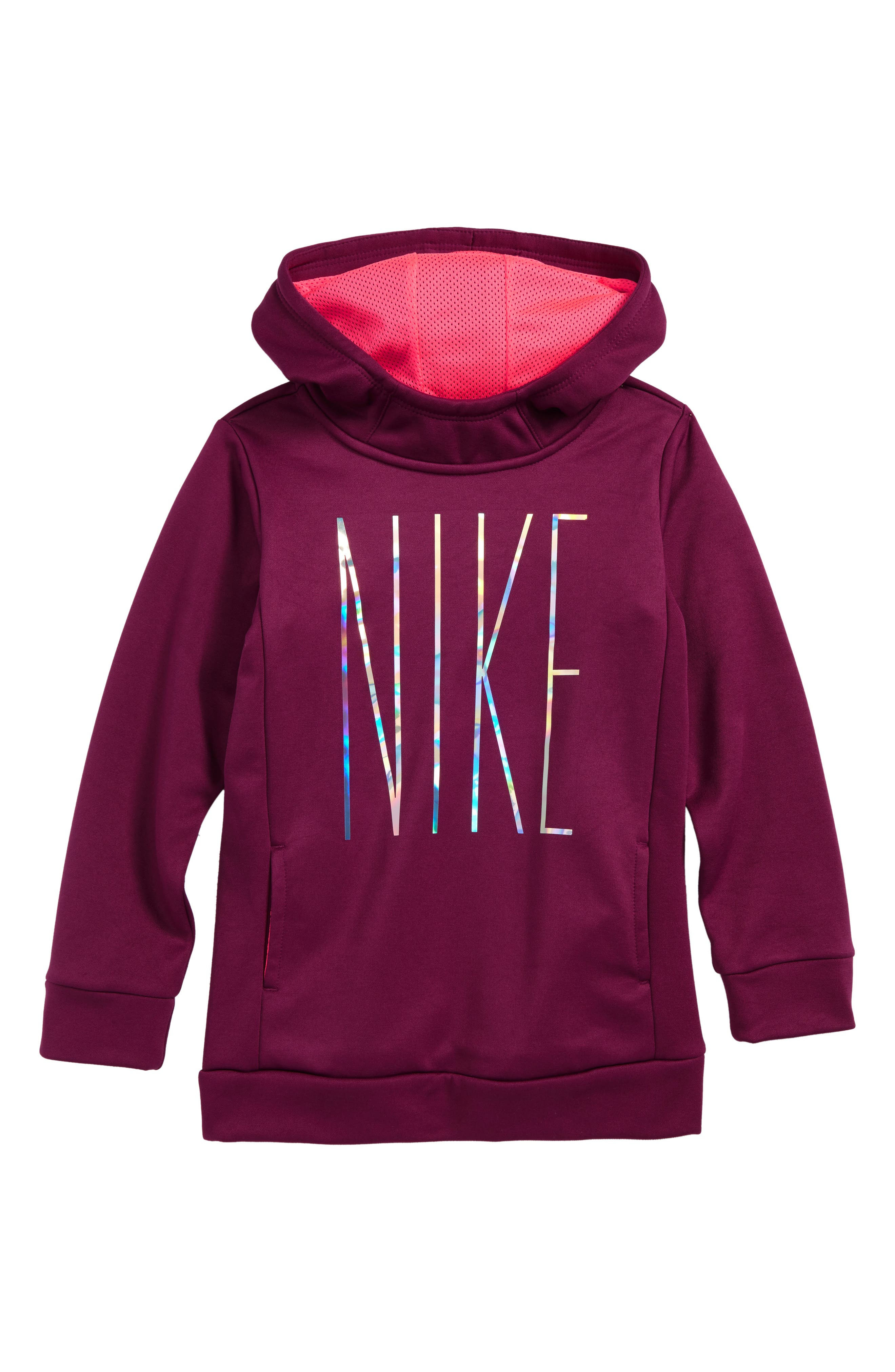 Main Image - Nike Therma-FIT Hoodie (Toddler Girls & Little Girls)