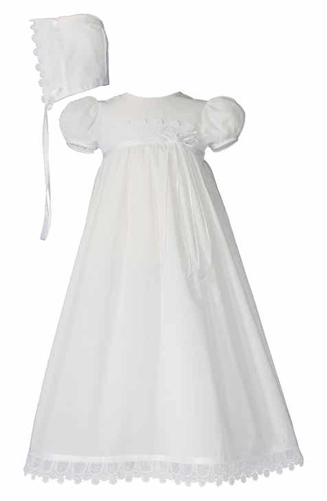51c358a2fad Little Things Mean A Lot Christening Gown   Hat Set (Baby Girls)