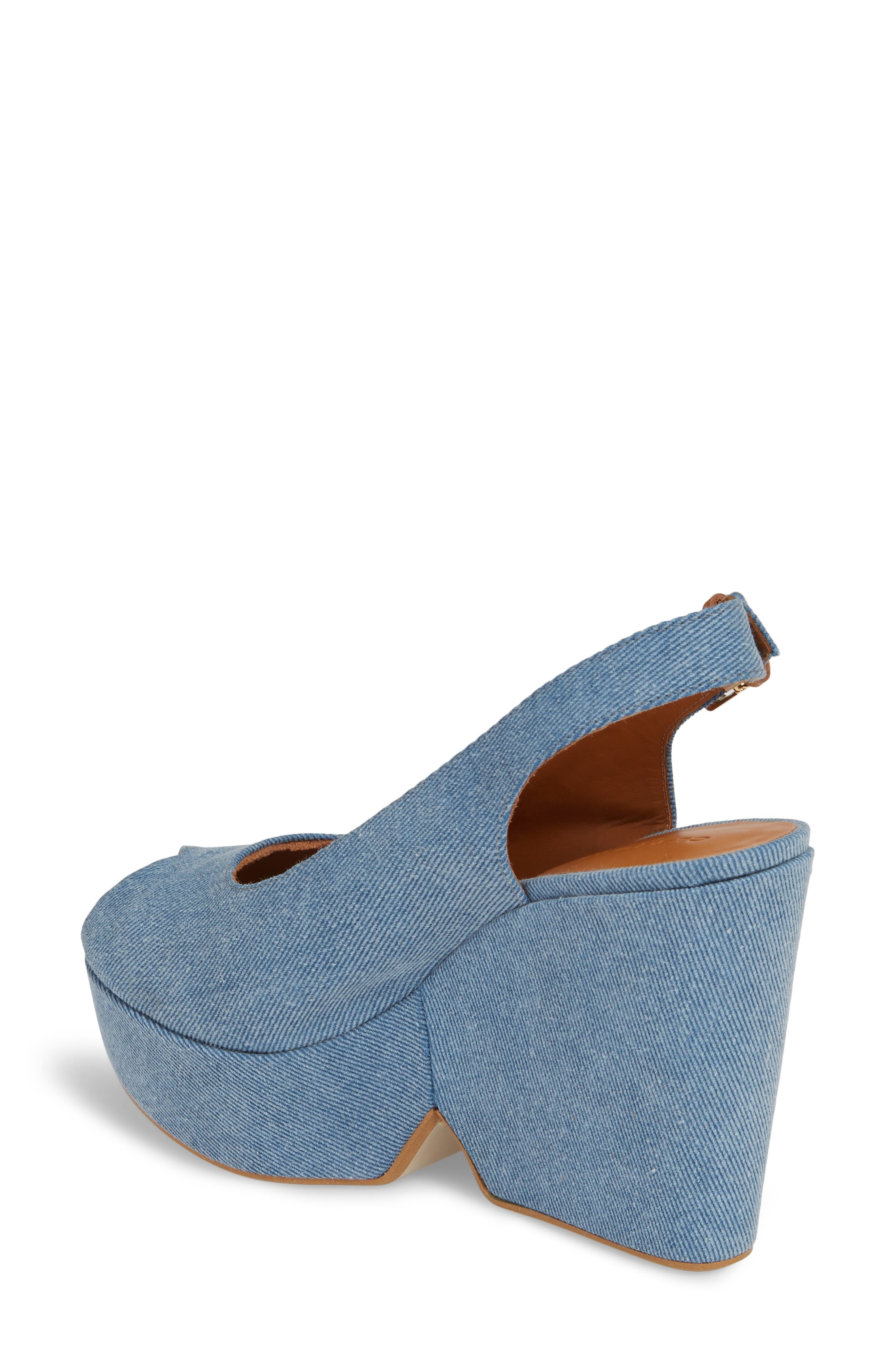 Alternate Image 2  - Robert Clergerie Dylanto Platform Wedge Sandal (Women)
