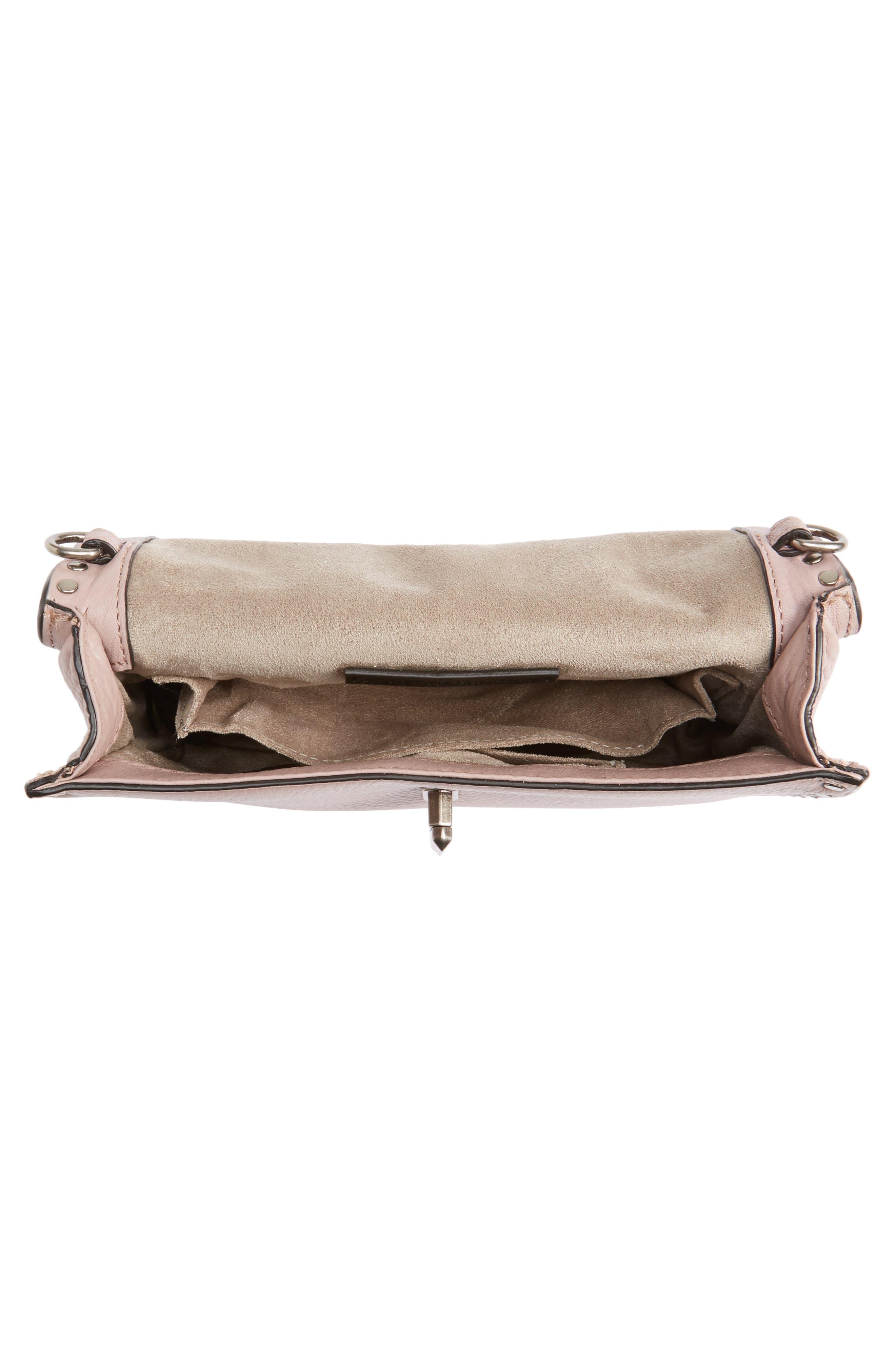 Darren Top Handle Crossbody Bag,                             Alternate thumbnail 3, color,                             Vintage Pink