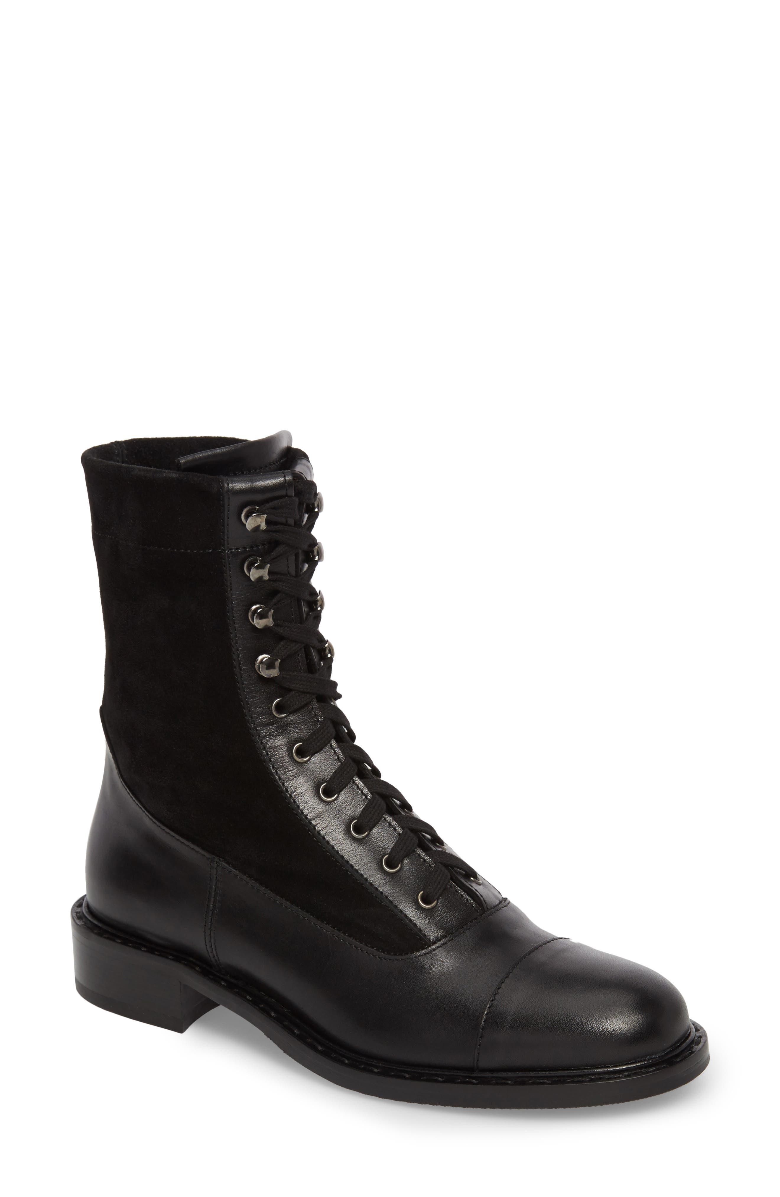 Brigitta Weatherproof Boot,                             Main thumbnail 1, color,                             Black/ Black